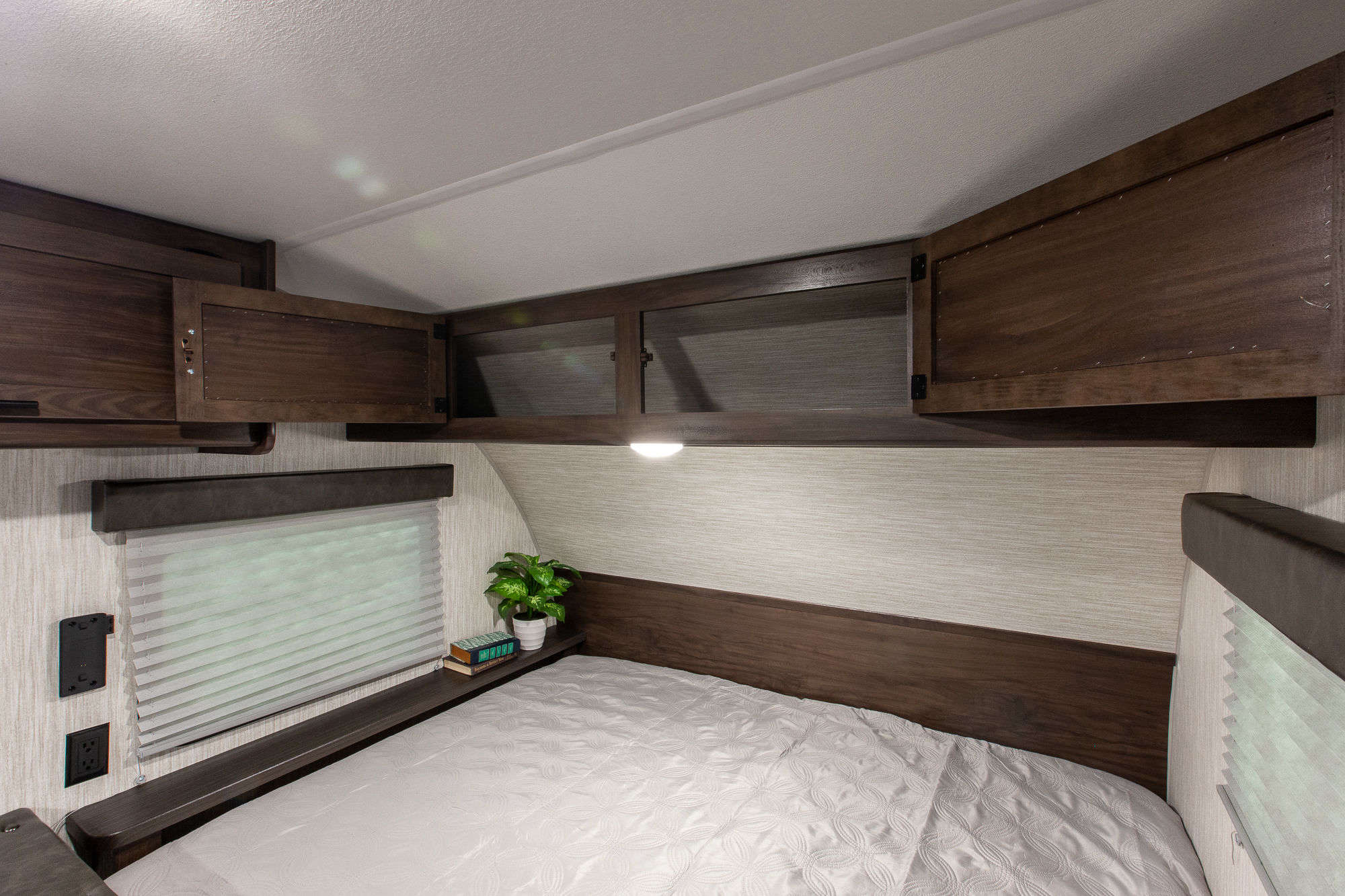 2021 Forest River Cherokee Wolf Pup 16BHS Bunkhouse Travel Trailer Interior Image