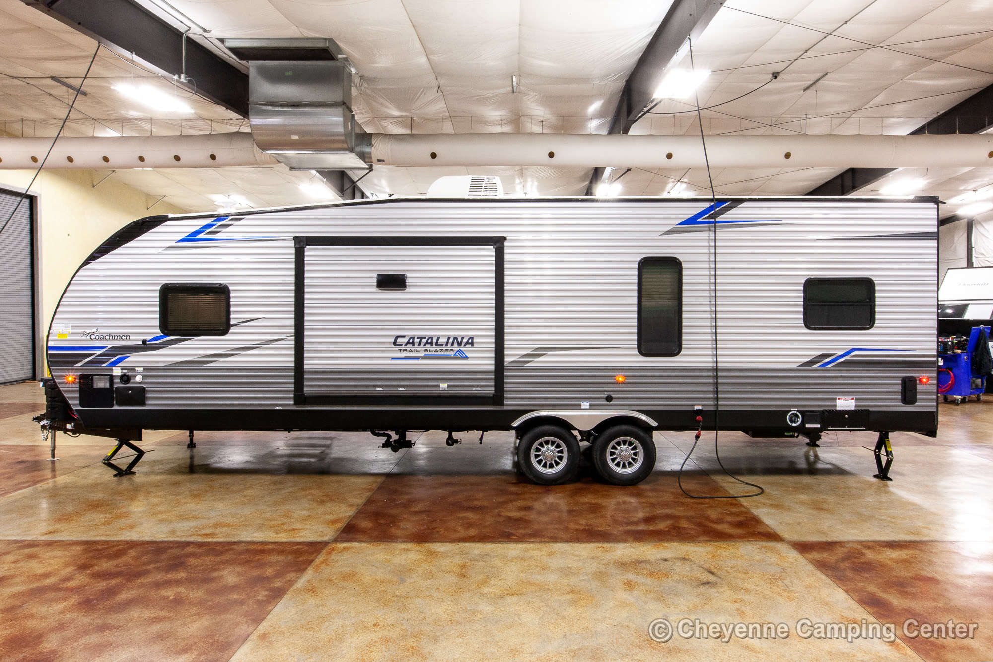 2021 Coachmen Catalina Trail Blazer 30THS Bunkhouse Toy Hauler Travel Trailer Exterior Image