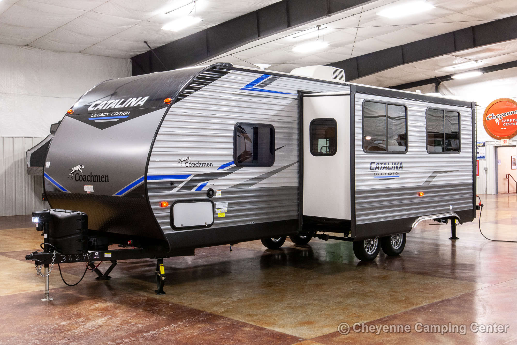 2021 Coachmen Catalina Legacy Edition 263BHSCK Bunkhouse Travel Trailer Exterior Image
