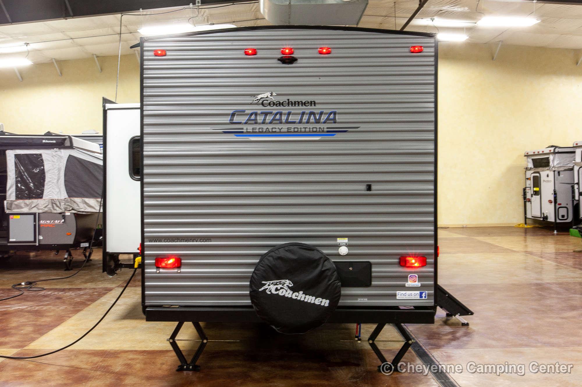 2021 Coachmen Catalina Legacy Edition 263BHSCK Bunkhouse Travel Trailer Exterior Image