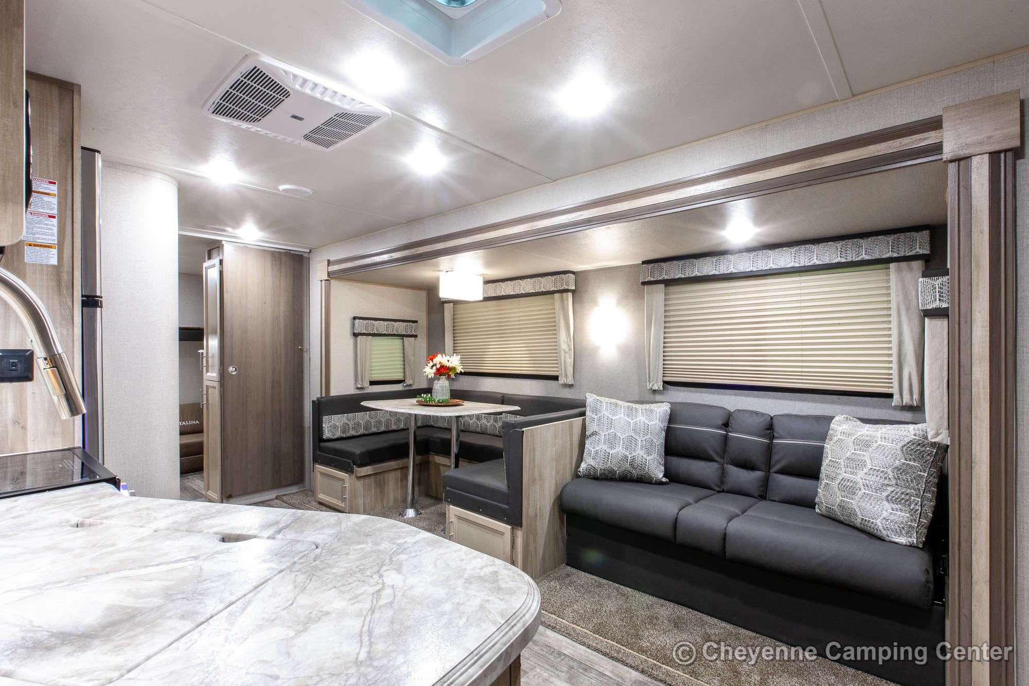2021 Coachmen Catalina Legacy Edition 293QBCK Bunkhouse Travel Trailer Interior Image
