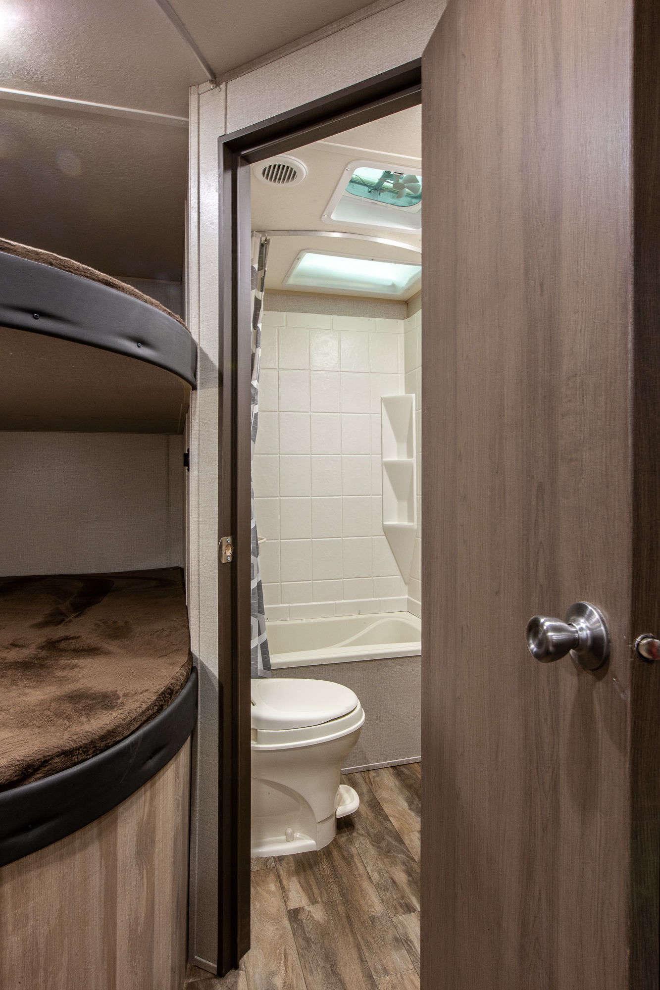 2020 Coachmen Catalina Summit Series 261BH Bunkhouse Travel Trailer Interior Image