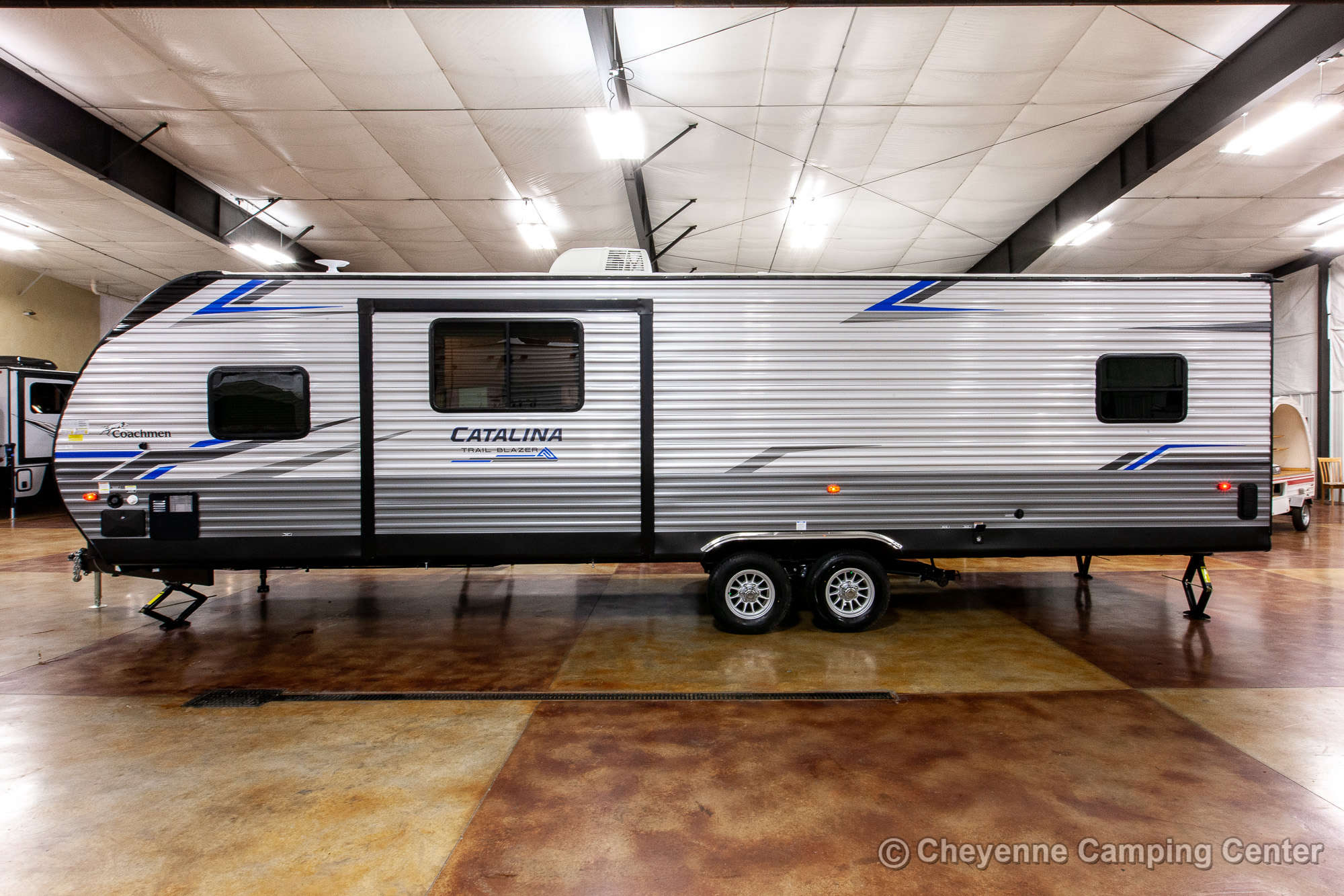 2021 Coachmen Catalina Trail Blazer 29THS Toy Hauler Travel Trailer Exterior Image