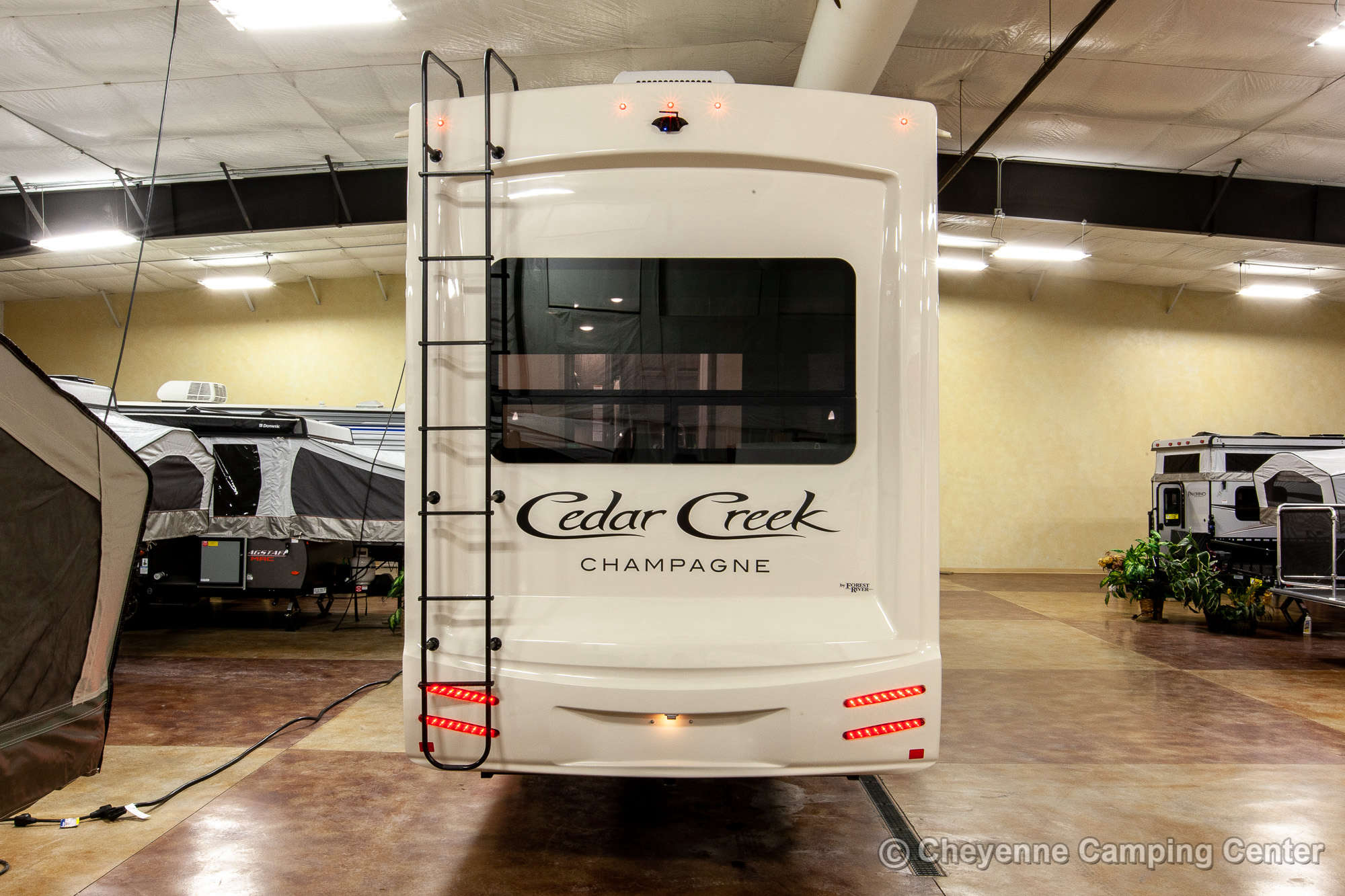 2020 Forest River Cedar Creek Champagne Edition 38EL Fifth Wheel Exterior Image