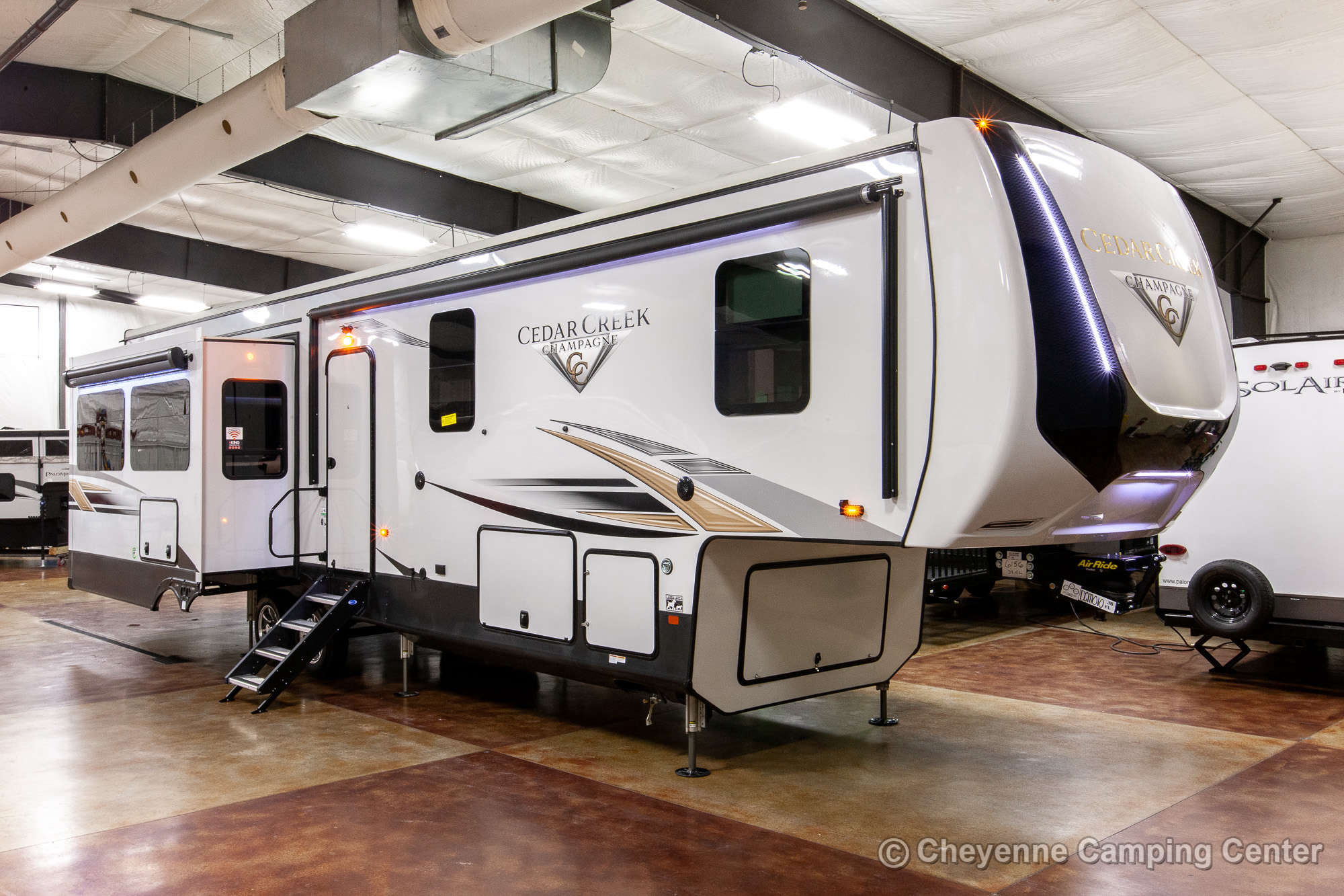 2021 Forest River Cedar Creek Champagne Edition 38EL Fifth Wheel