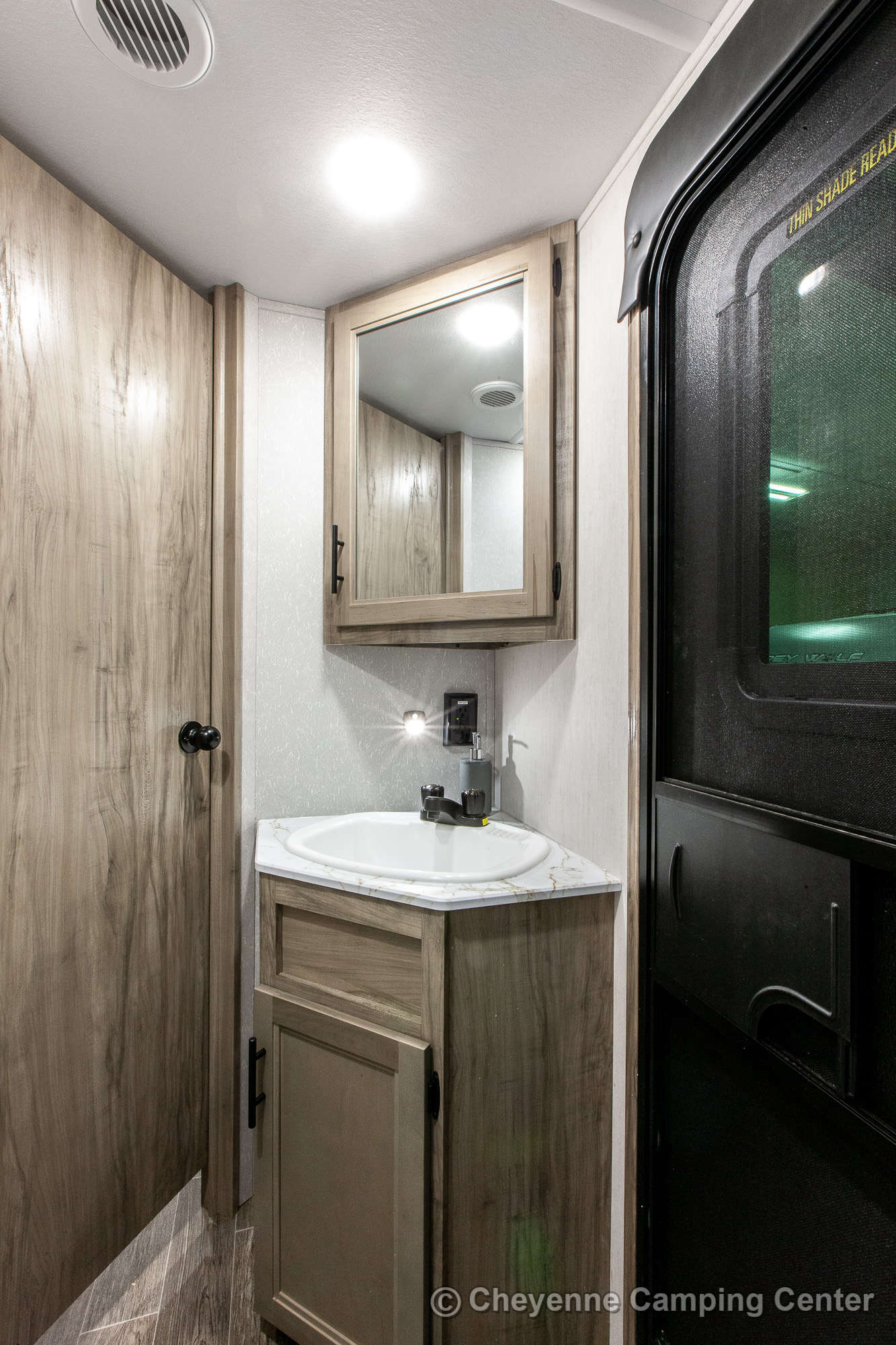 2021 Forest River Cherokee Alpha Wolf 26DBH-L Bunkhouse Travel Trailer Interior Image