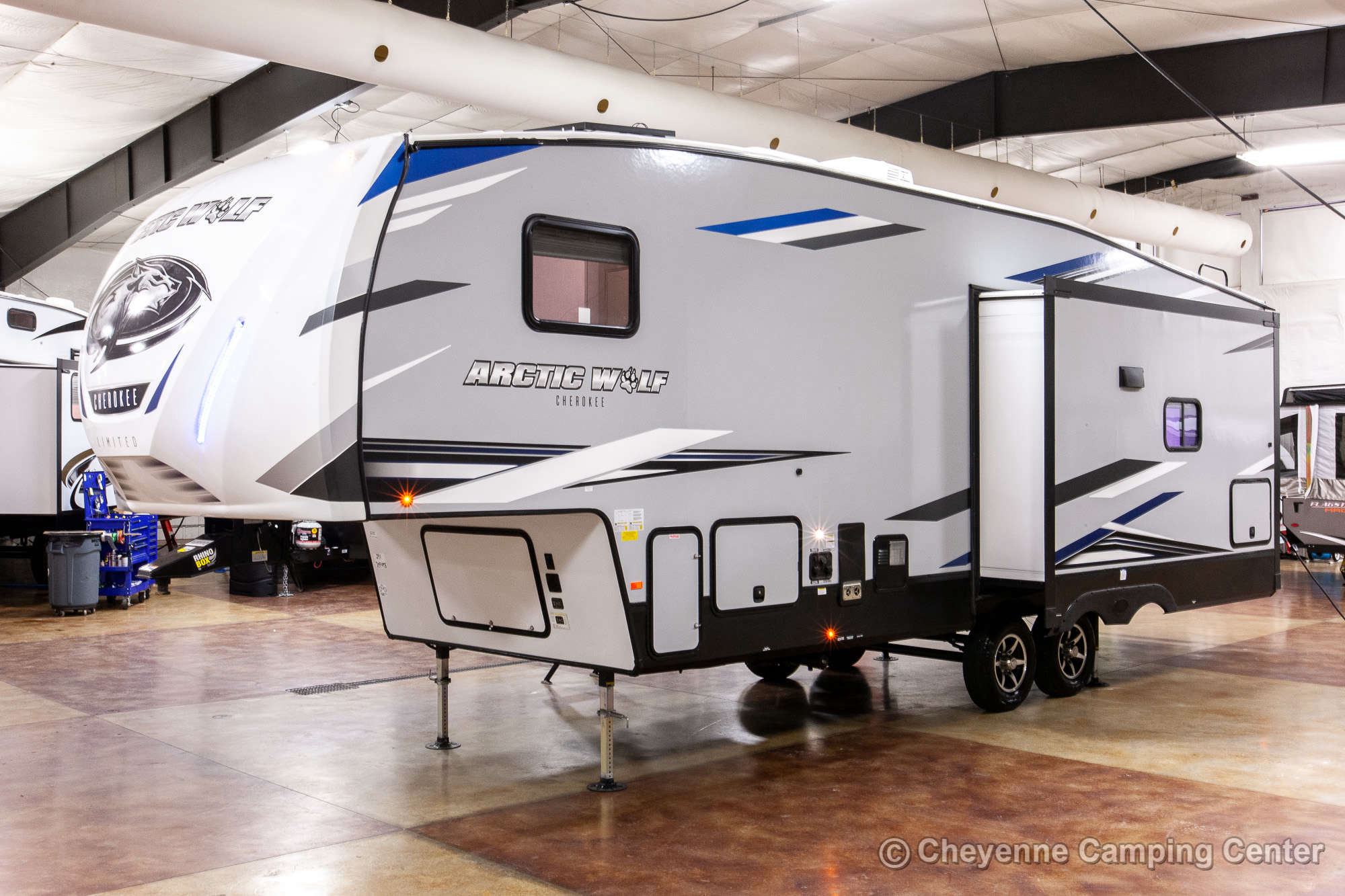 2022 Forest River Cherokee Arctic Wolf 291RL Fifth Wheel Exterior Image