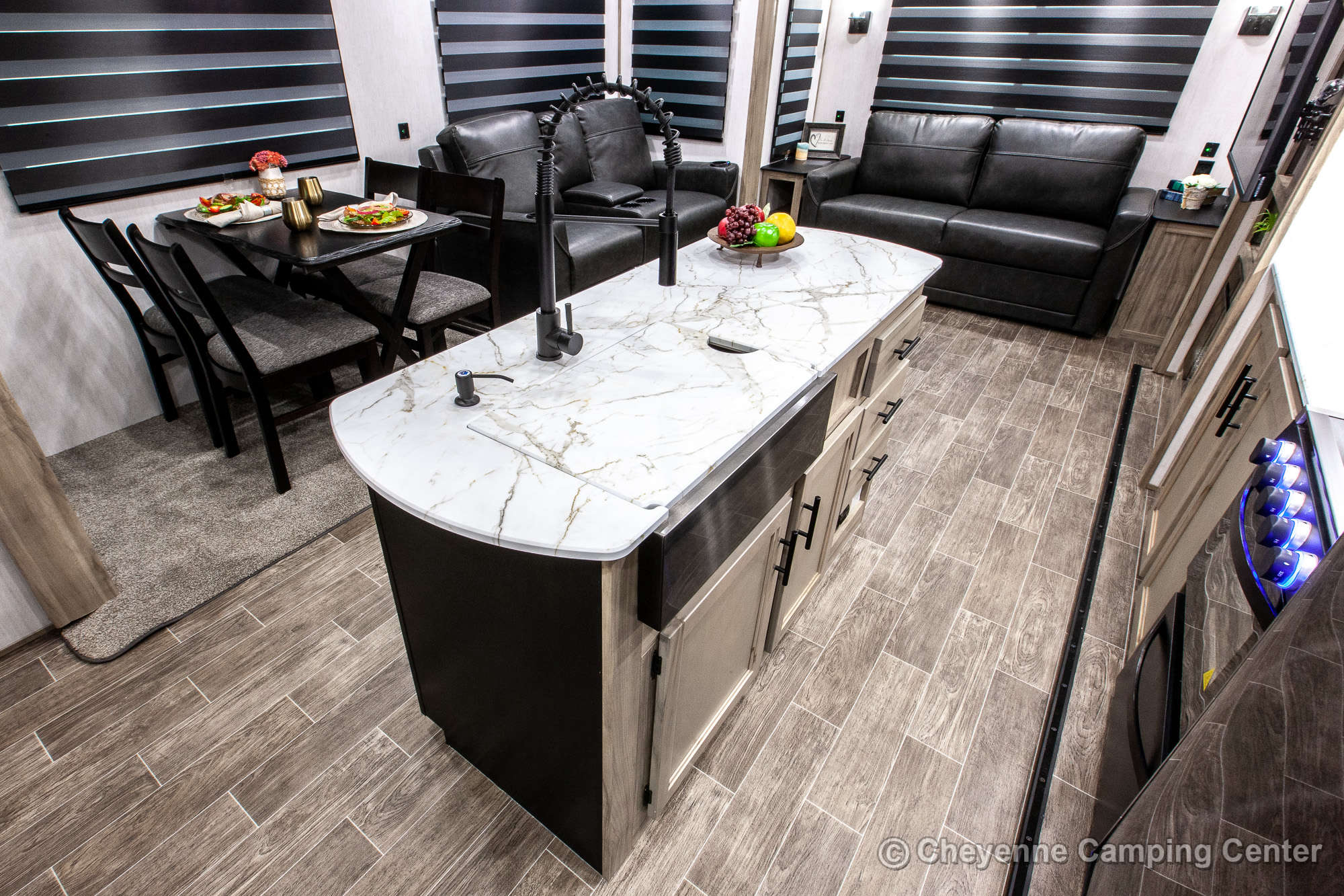 2021 Forest River Cherokee Arctic Wolf 291RL Fifth Wheel Interior Image