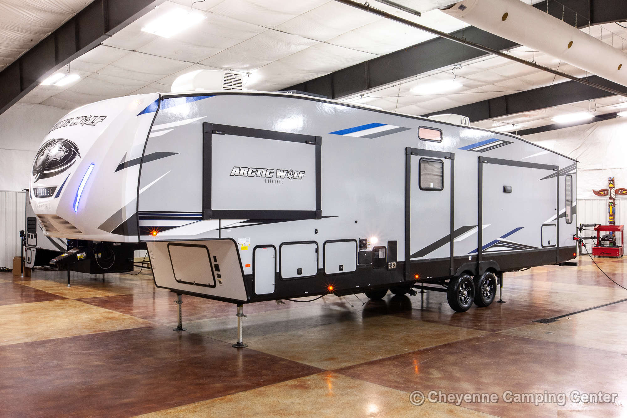 2022 Forest River Cherokee Arctic Wolf 3880SUITE Bunkhouse Fifth Wheel Exterior Image