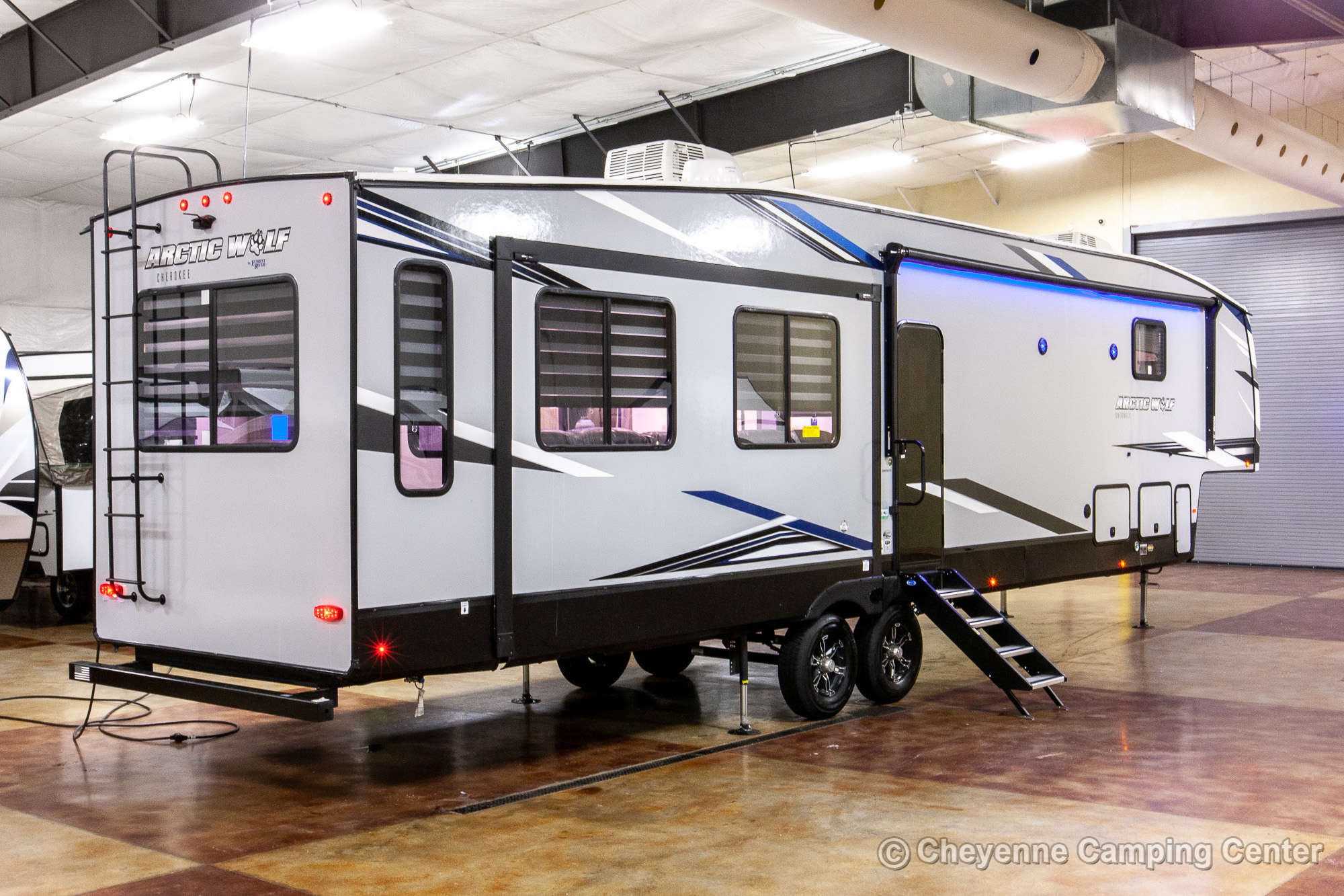 2021 Forest River Cherokee Arctic Wolf 3880SUITE Bunkhouse Fifth Wheel Exterior Image