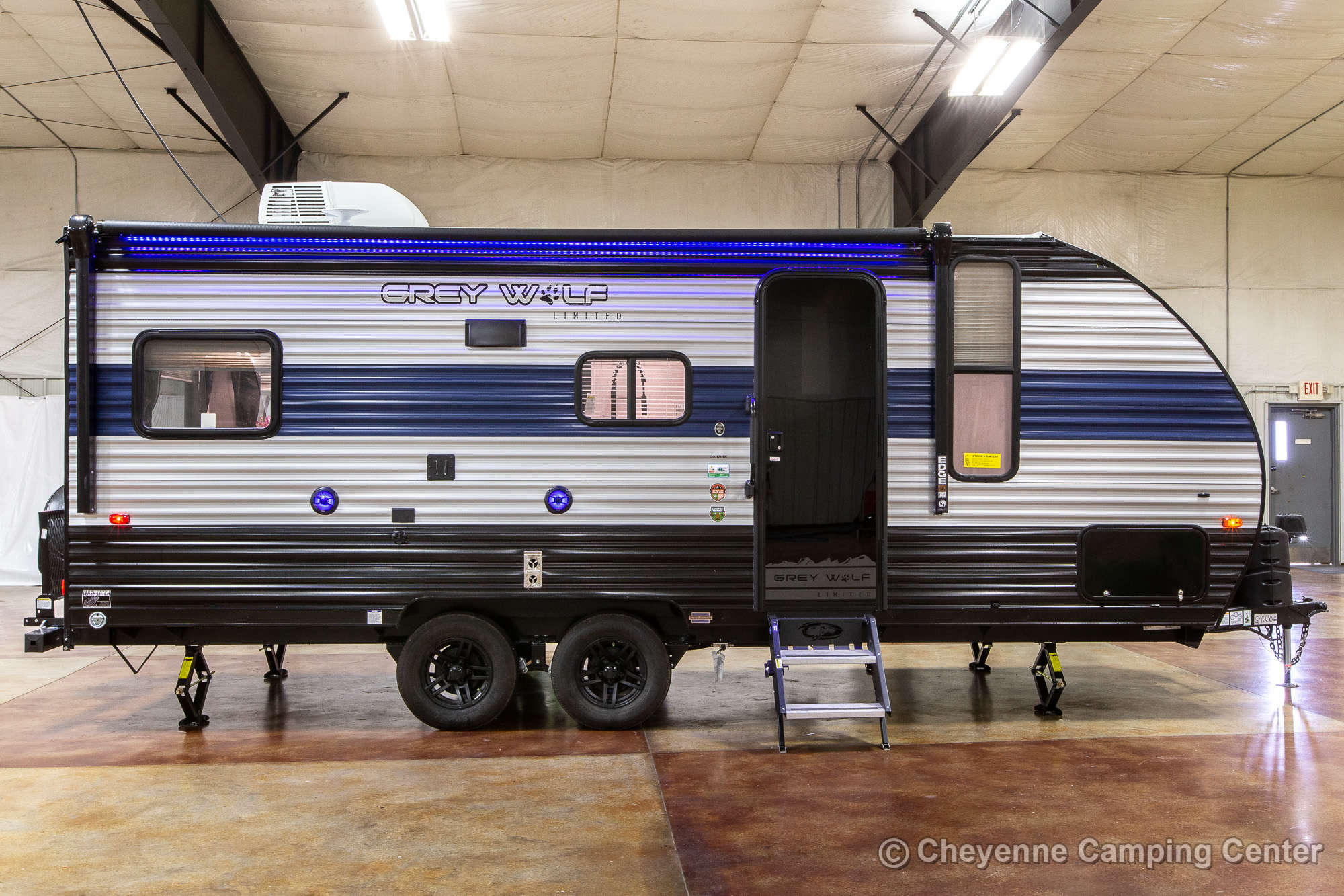 2021 Forest River Cherokee Grey Wolf 20RDSE Travel Trailer Exterior Image