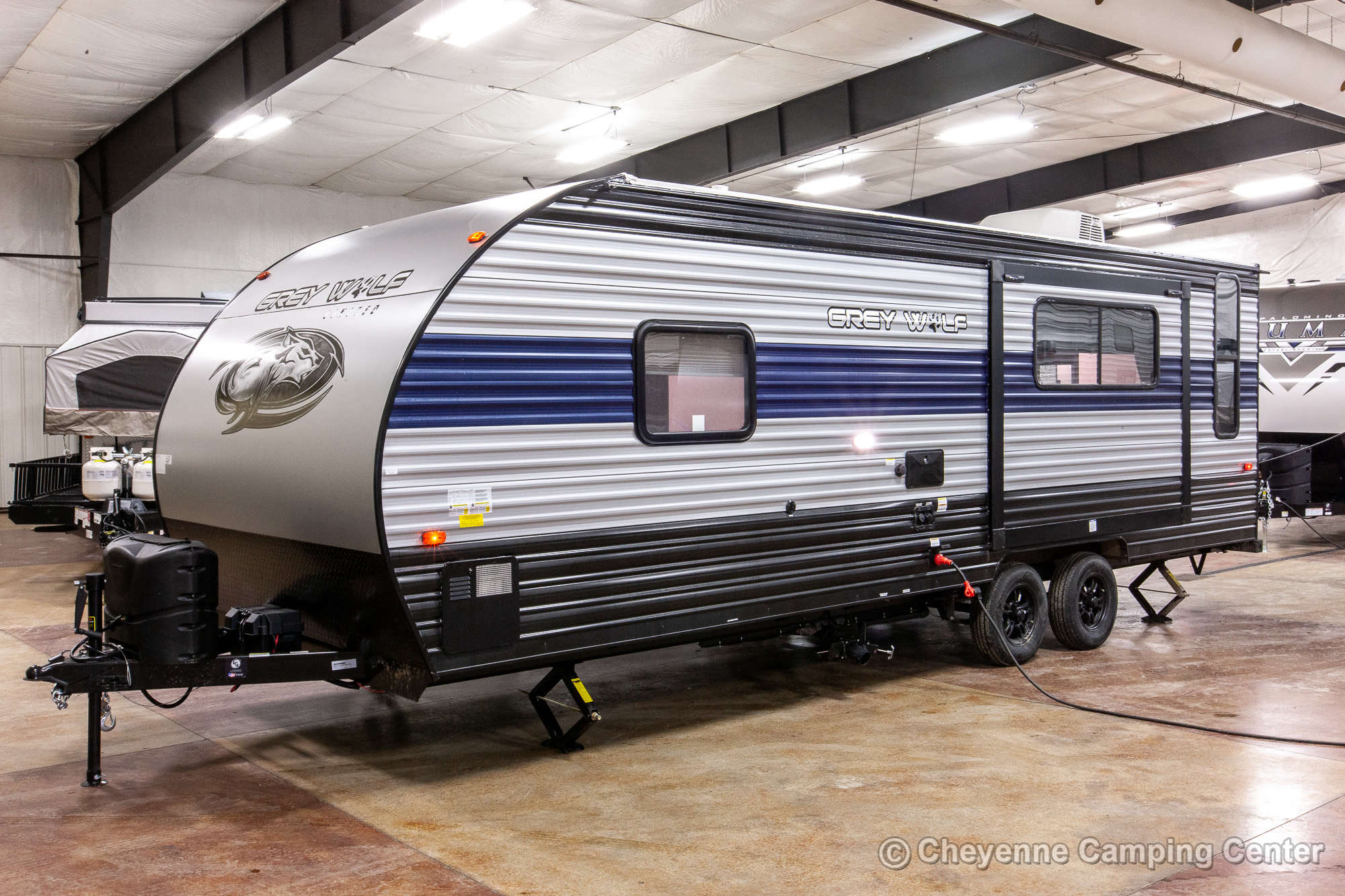 2022 Forest River Cherokee Grey Wolf 23MK Travel Trailer Exterior Image