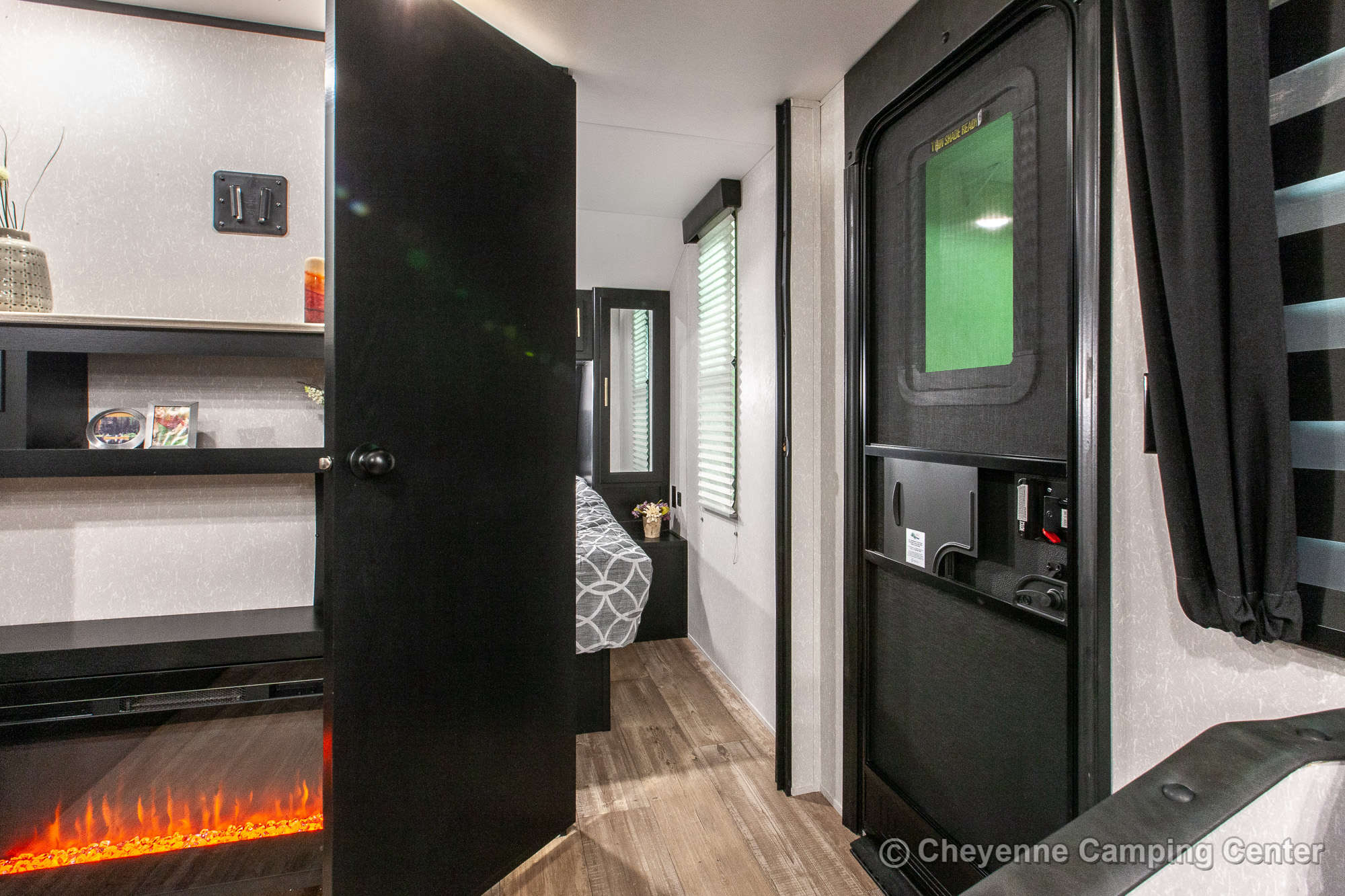 2021 Forest River Cherokee Grey Wolf 26BRB Bunkhouse Travel Trailer Interior Image