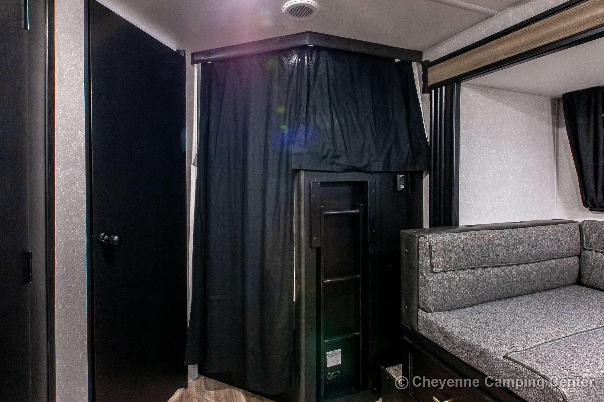 2021 Forest River Cherokee Grey Wolf 26DBH Bunkhouse Travel Trailer Interior Image