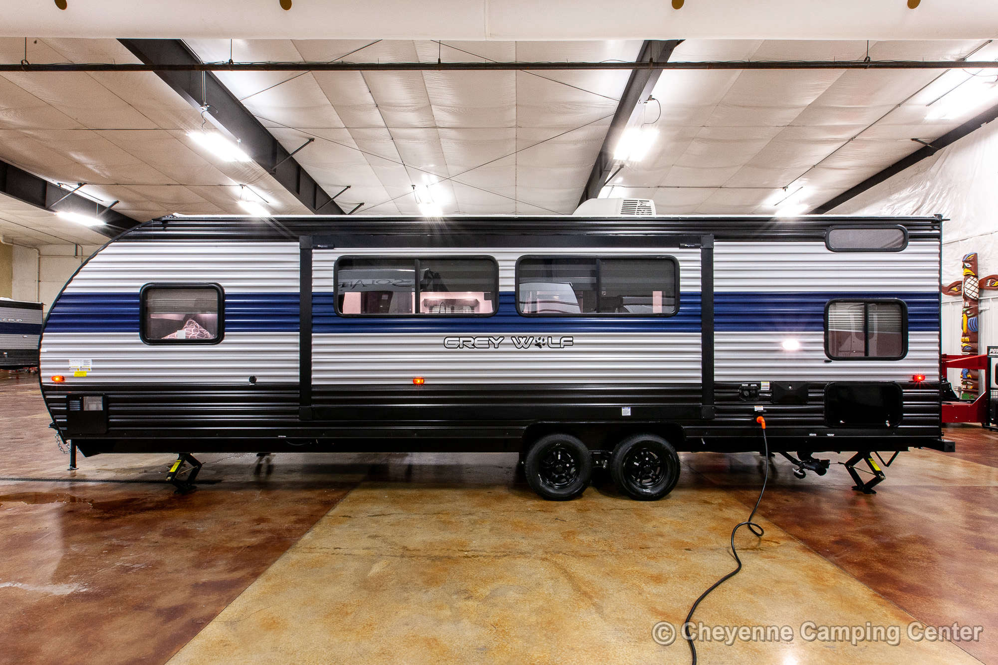 2022 Forest River Cherokee Grey Wolf 26DBH Bunkhouse Travel Trailer Exterior Image