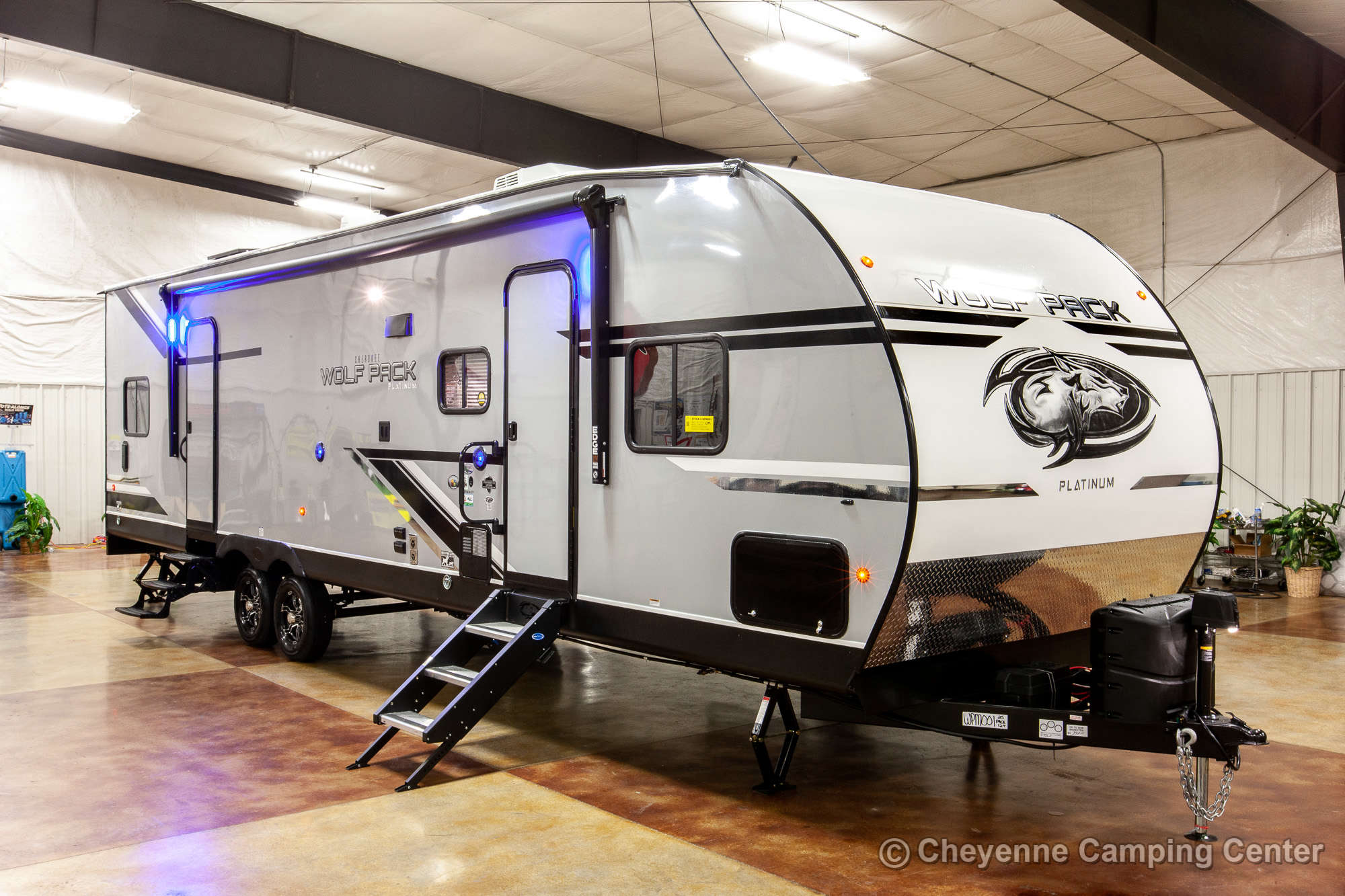 2021 Forest River Cherokee Wolf Pack 25PACK12 Bunkhouse Toy Hauler Travel Trailer
