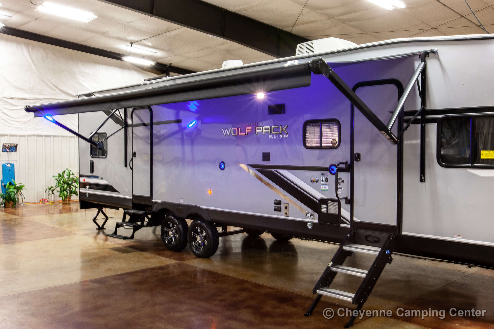 2021 Forest River Cherokee Wolf Pack 25PACK12 Bunkhouse Toy Hauler Travel Trailer Exterior Image