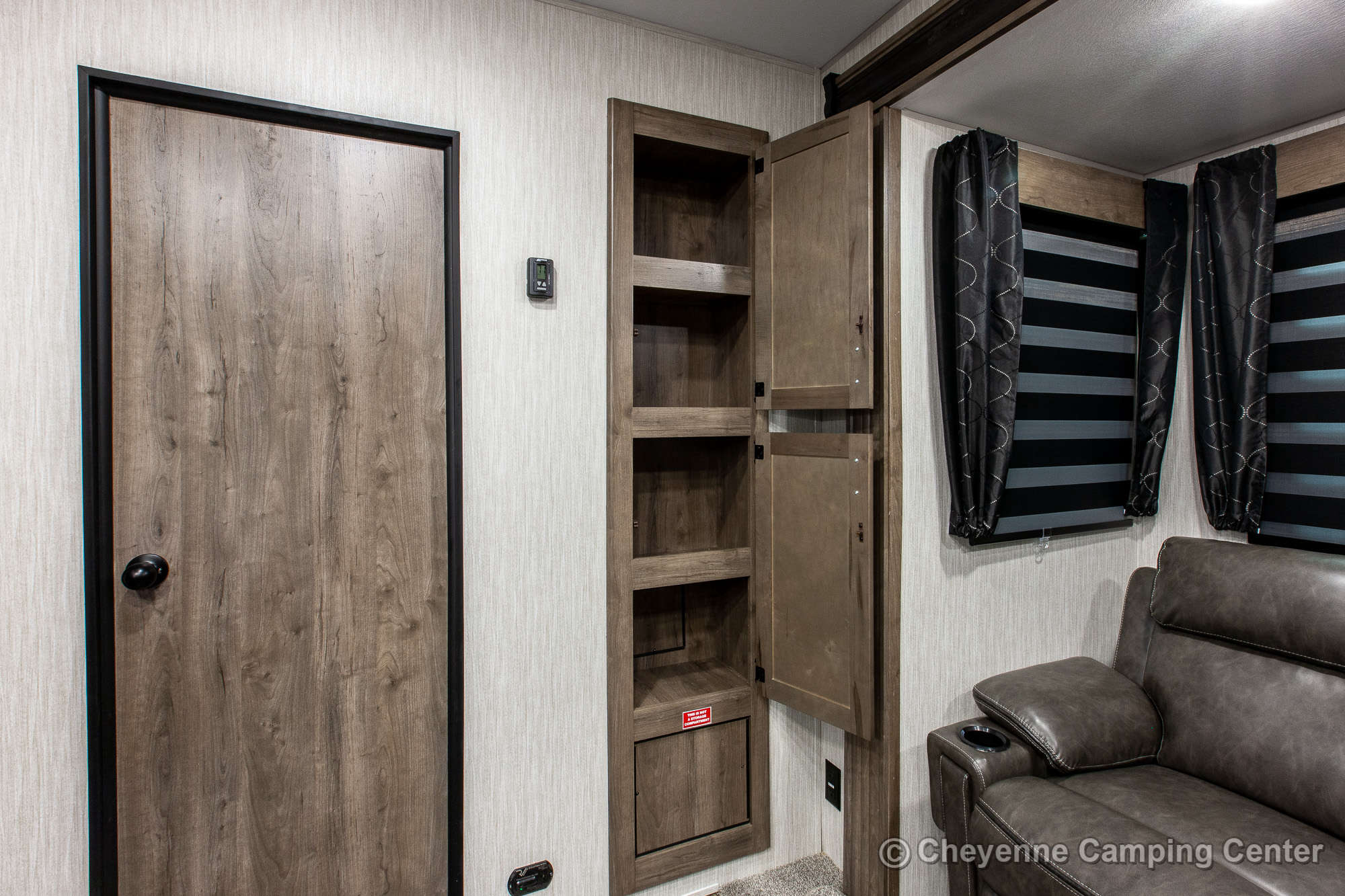 2021 Forest River Cherokee Wolf Pack 25PACK12 Bunkhouse Toy Hauler Travel Trailer Interior Image