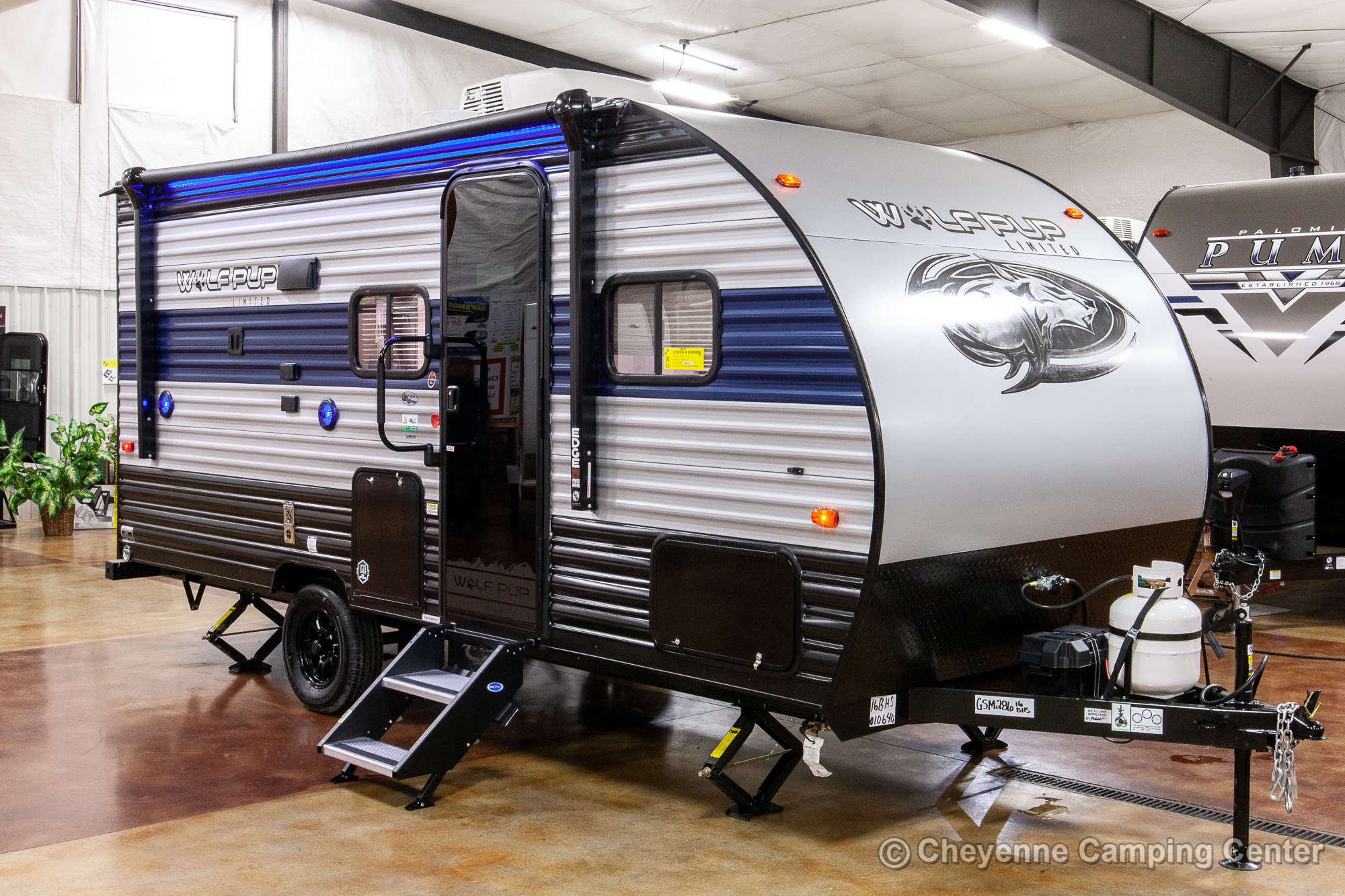 2021 Forest River Cherokee Wolf Pup 16BHS Bunkhouse Travel Trailer