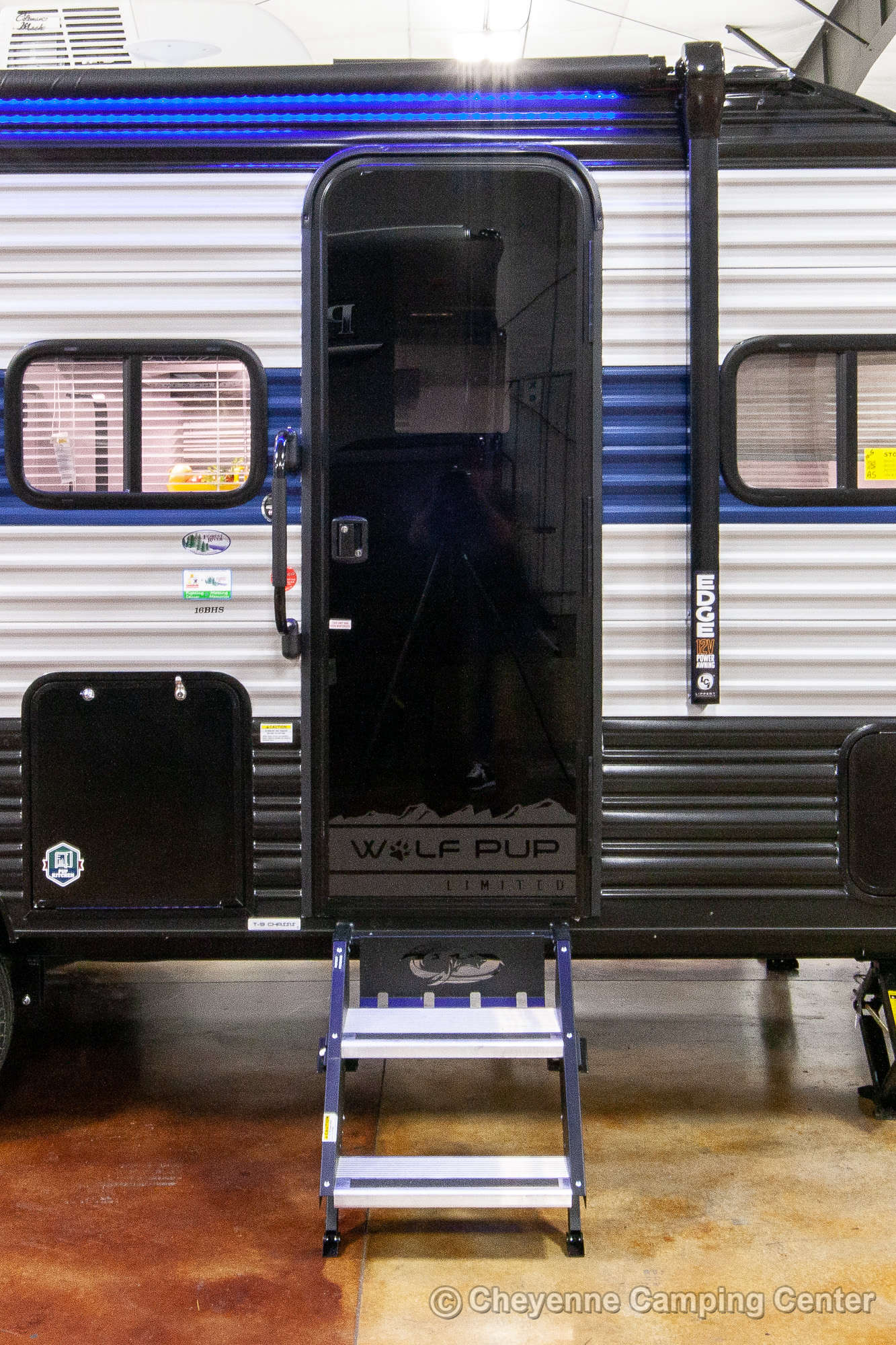 2021 Forest River Cherokee Wolf Pup 16BHS Bunkhouse Travel Trailer Exterior Image