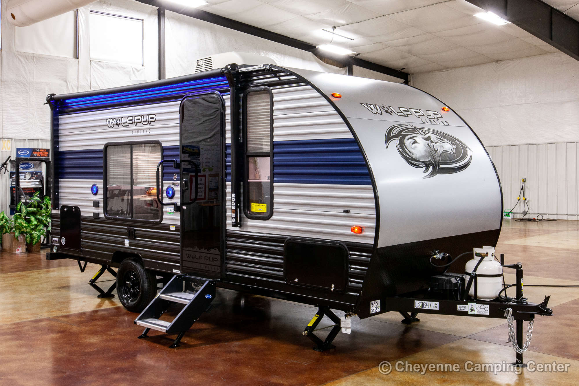 2021 Forest River Cherokee Wolf Pup 16FQ Travel Trailer