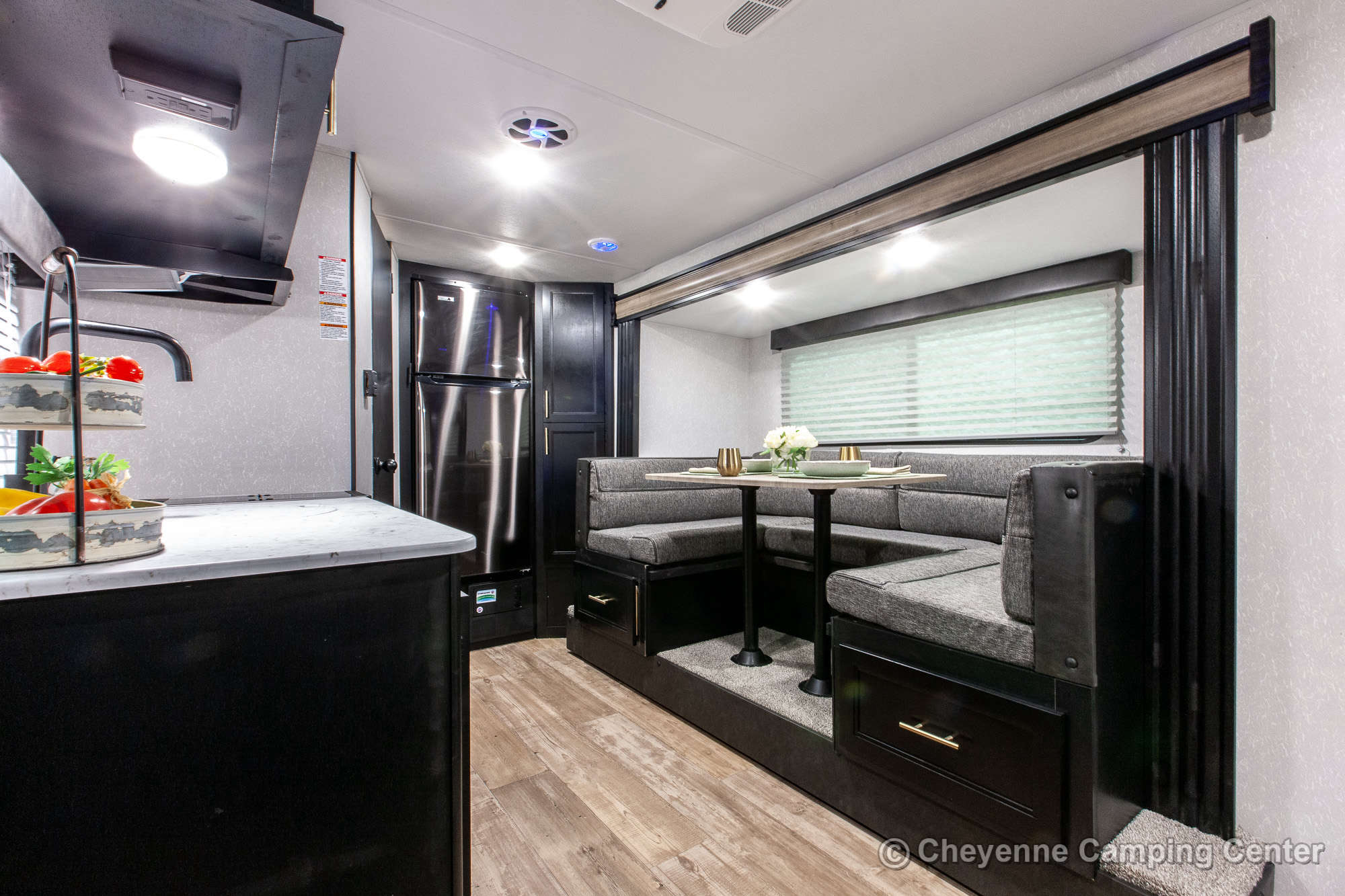2021 Forest River Cherokee Wolf Pup 16PF Travel Trailer Interior Image