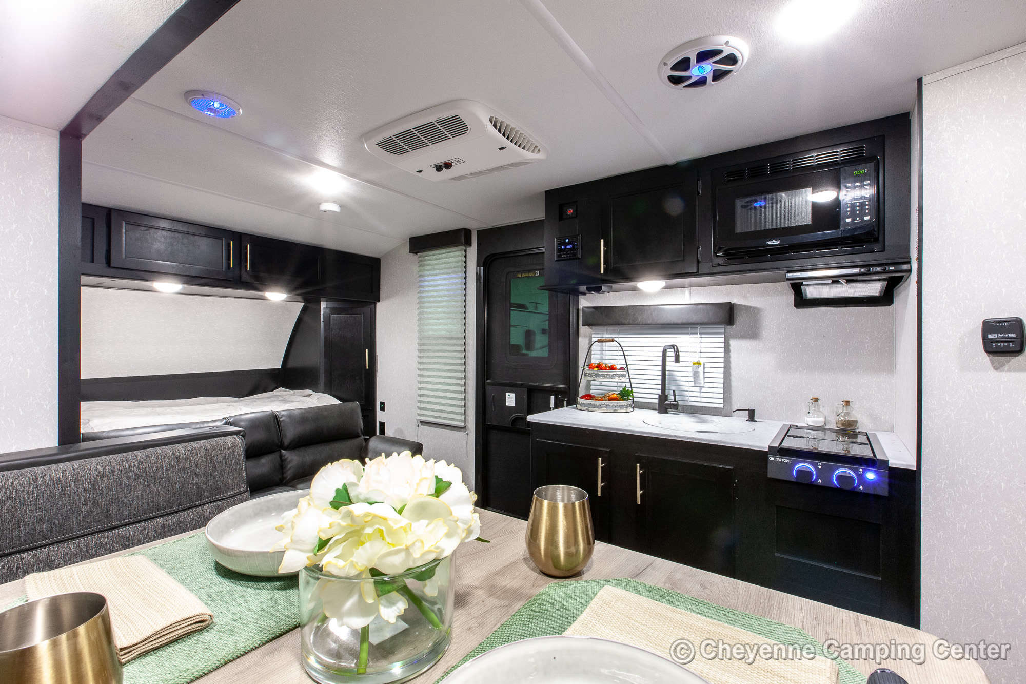 2022 Forest River Cherokee Wolf Pup 16PF Travel Trailer Interior Image