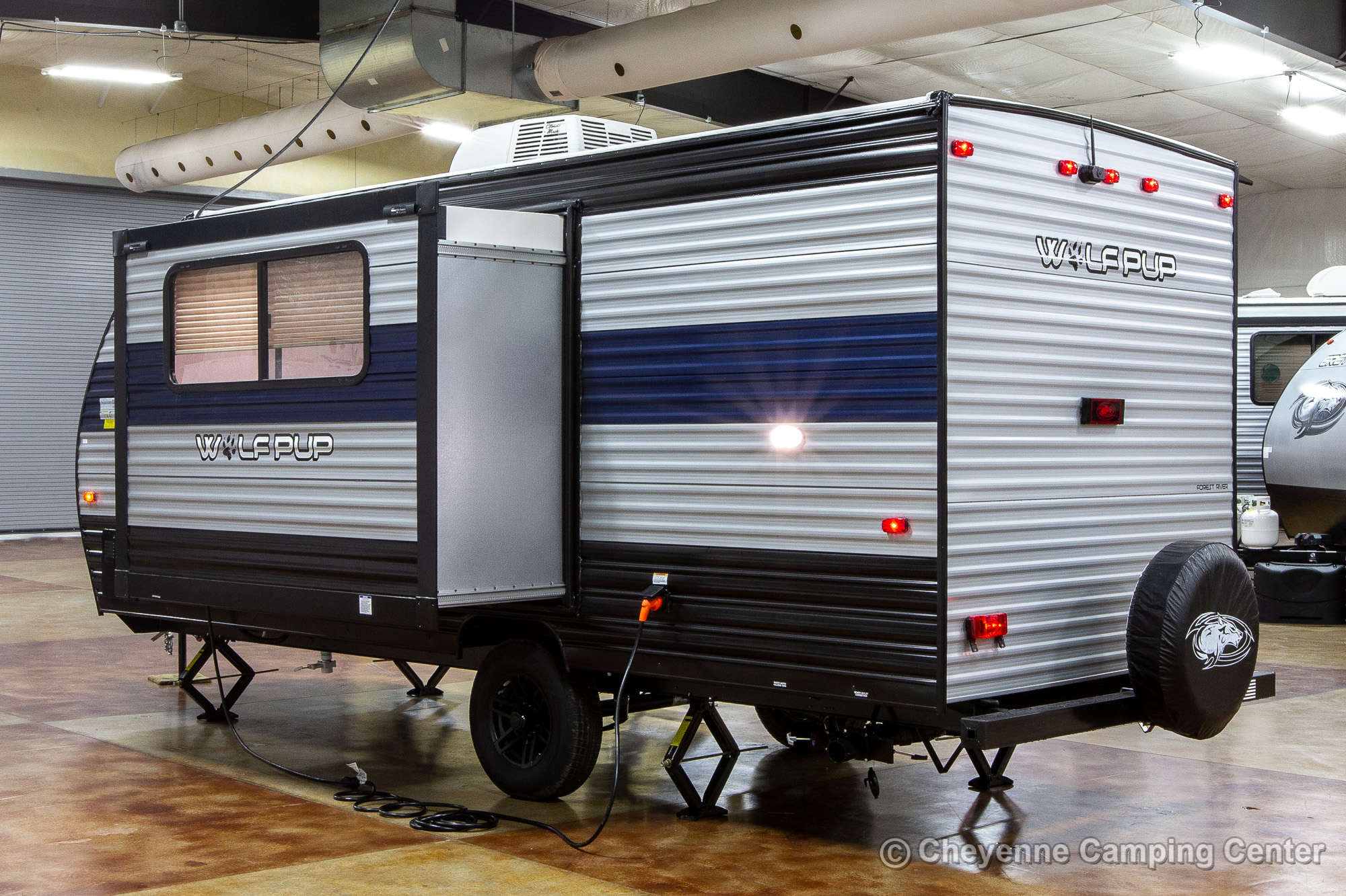 2022 Forest River Cherokee Wolf Pup 17JG Bunkhouse Travel Trailer Exterior Image