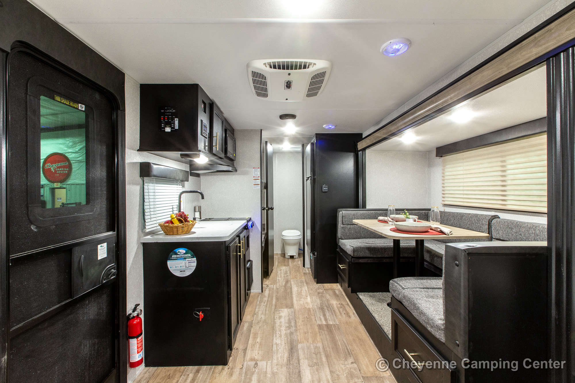 2022 Forest River Cherokee Wolf Pup 17JG Bunkhouse Travel Trailer Interior Image