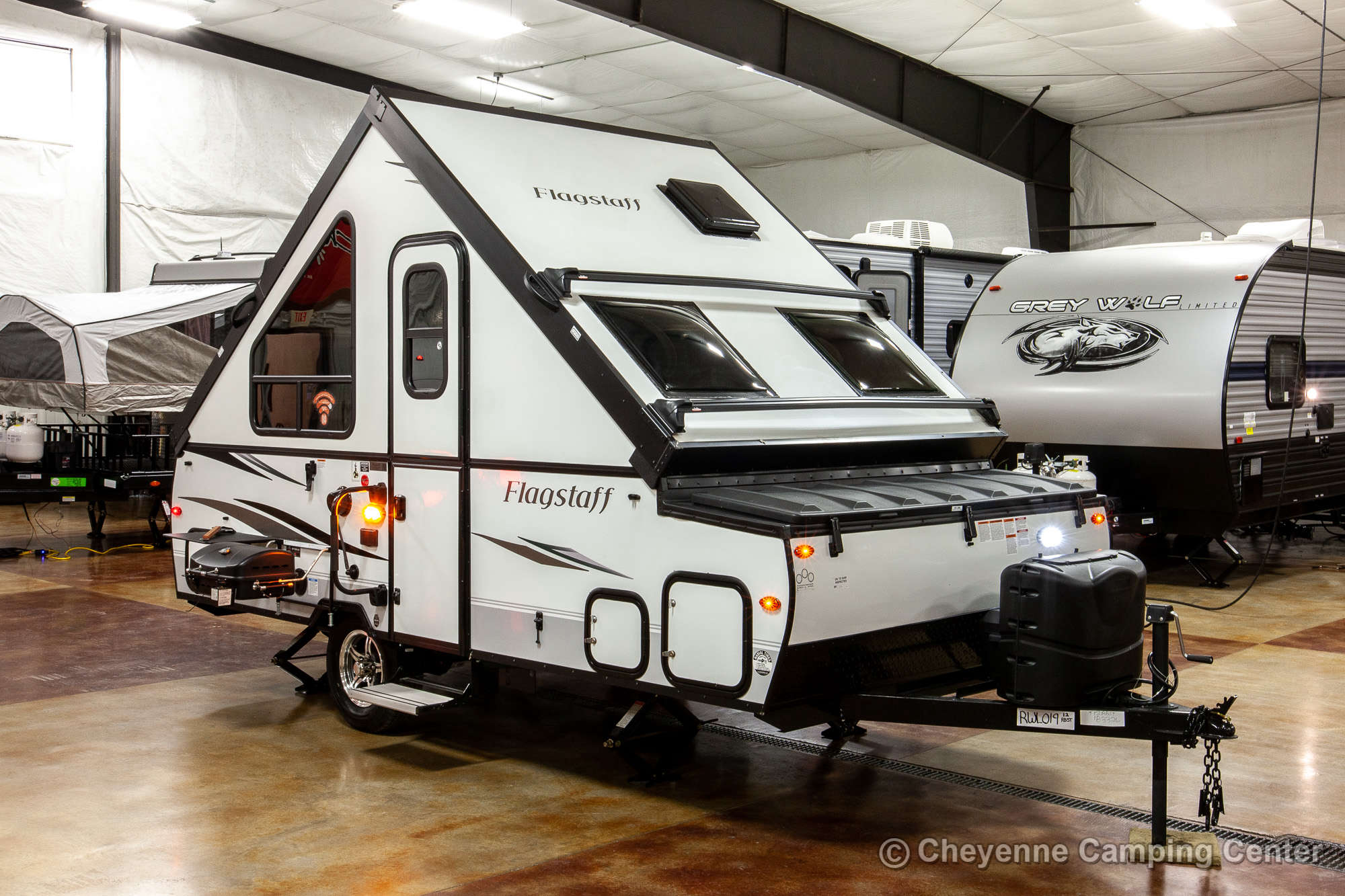2021 Forest River Flagstaff Hard Side T12RBST Folding Camper