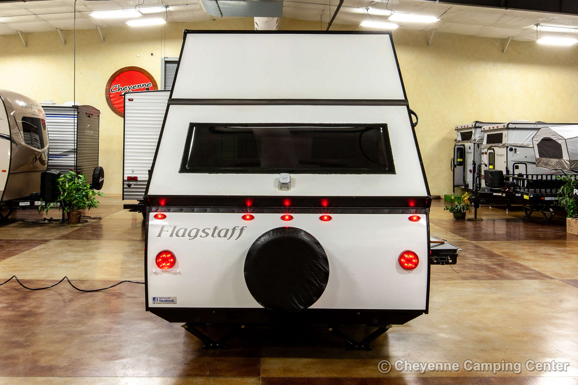 2021 Forest River Flagstaff Hard Side T12RBST Folding Camper Exterior Image