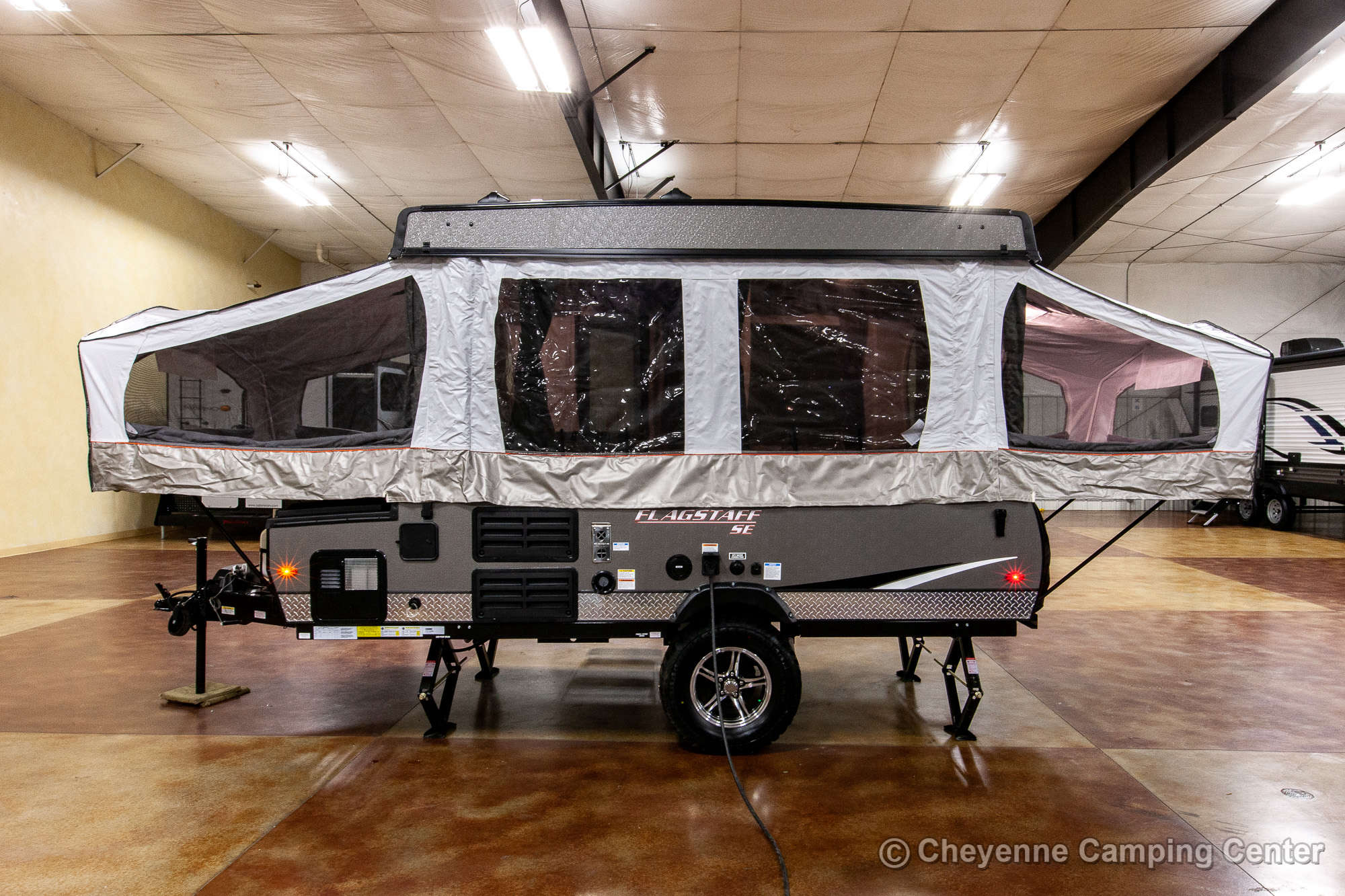 2021 Forest River Flagstaff Sports Enthusiast 206STSE Folding Camper Exterior Image