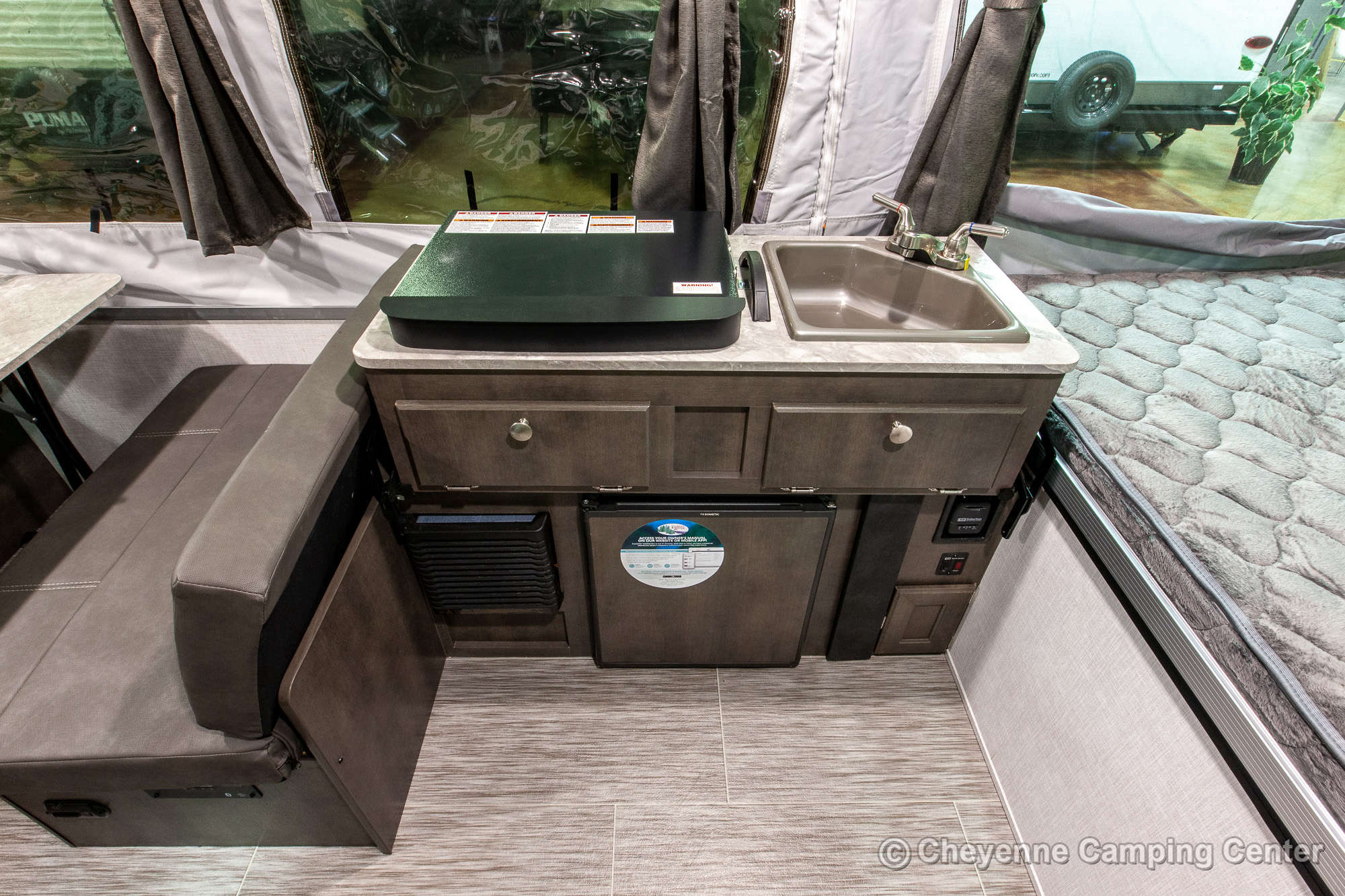 2021 Forest River Flagstaff Sports Enthusiast 206STSE Folding Camper Interior Image