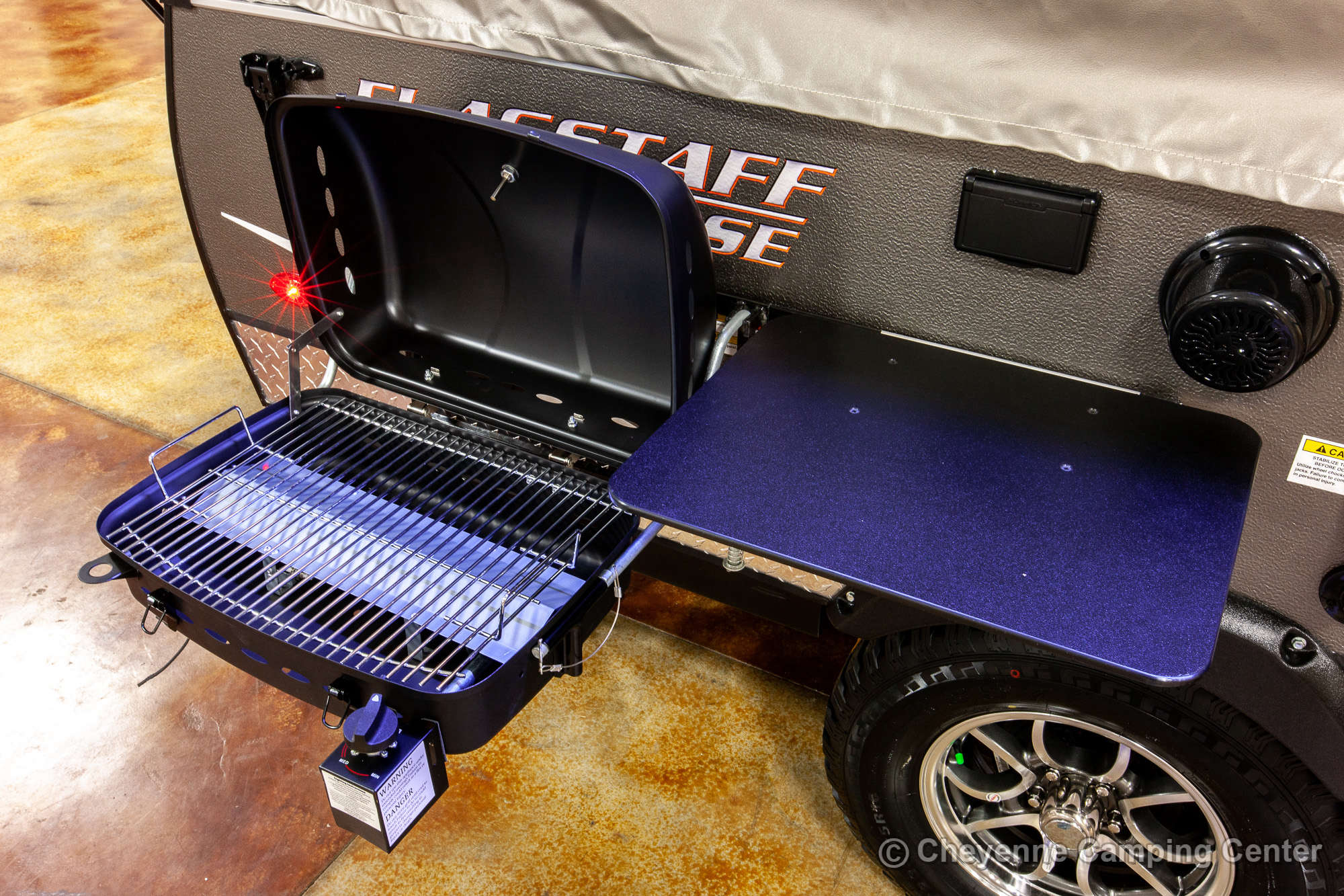 2021 Forest River Flagstaff Sports Enthusiast 207SE Folding Camper Exterior Image