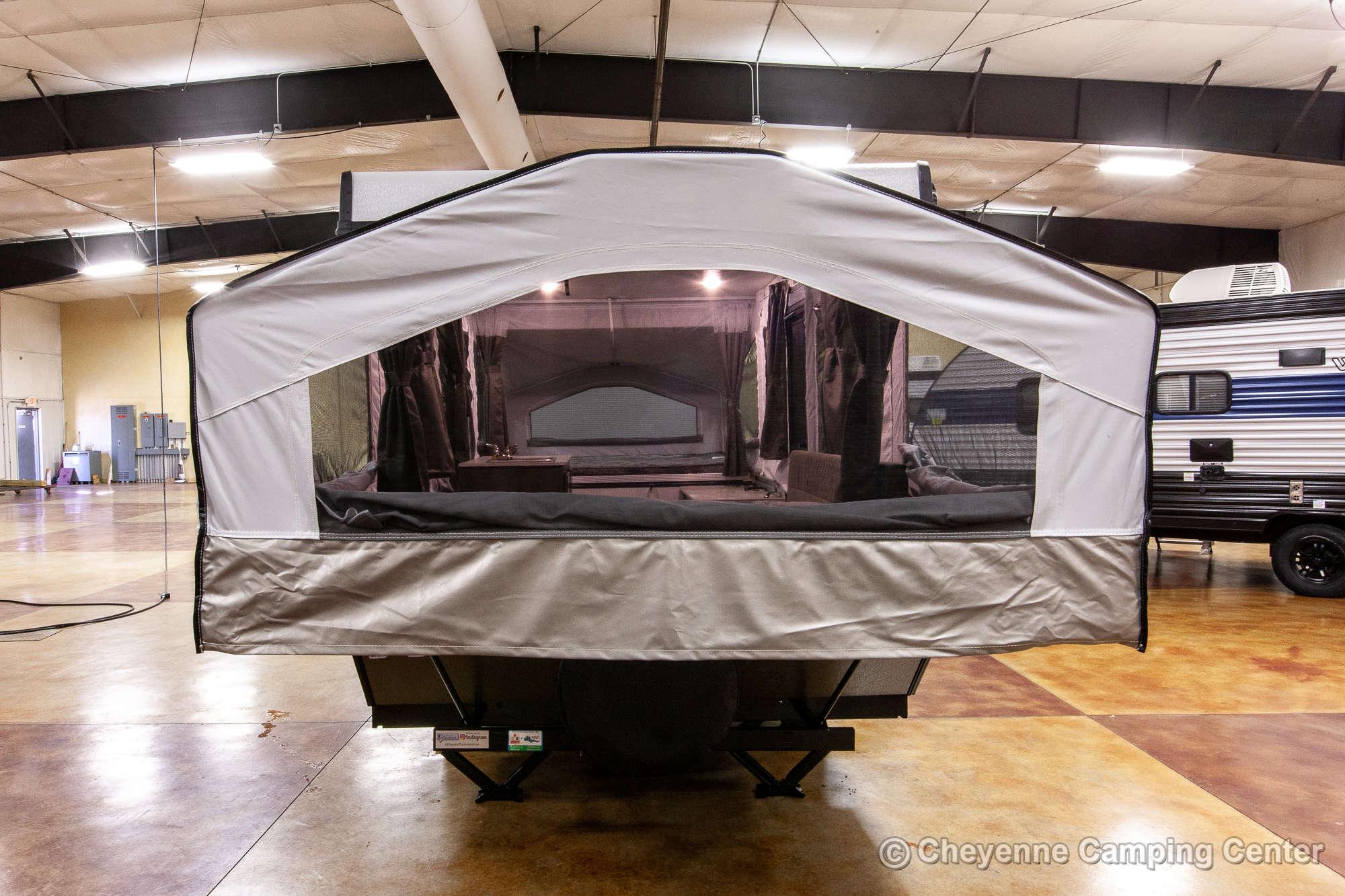 2021 Forest River Flagstaff LTD 228LTD Folding Camper Exterior Image