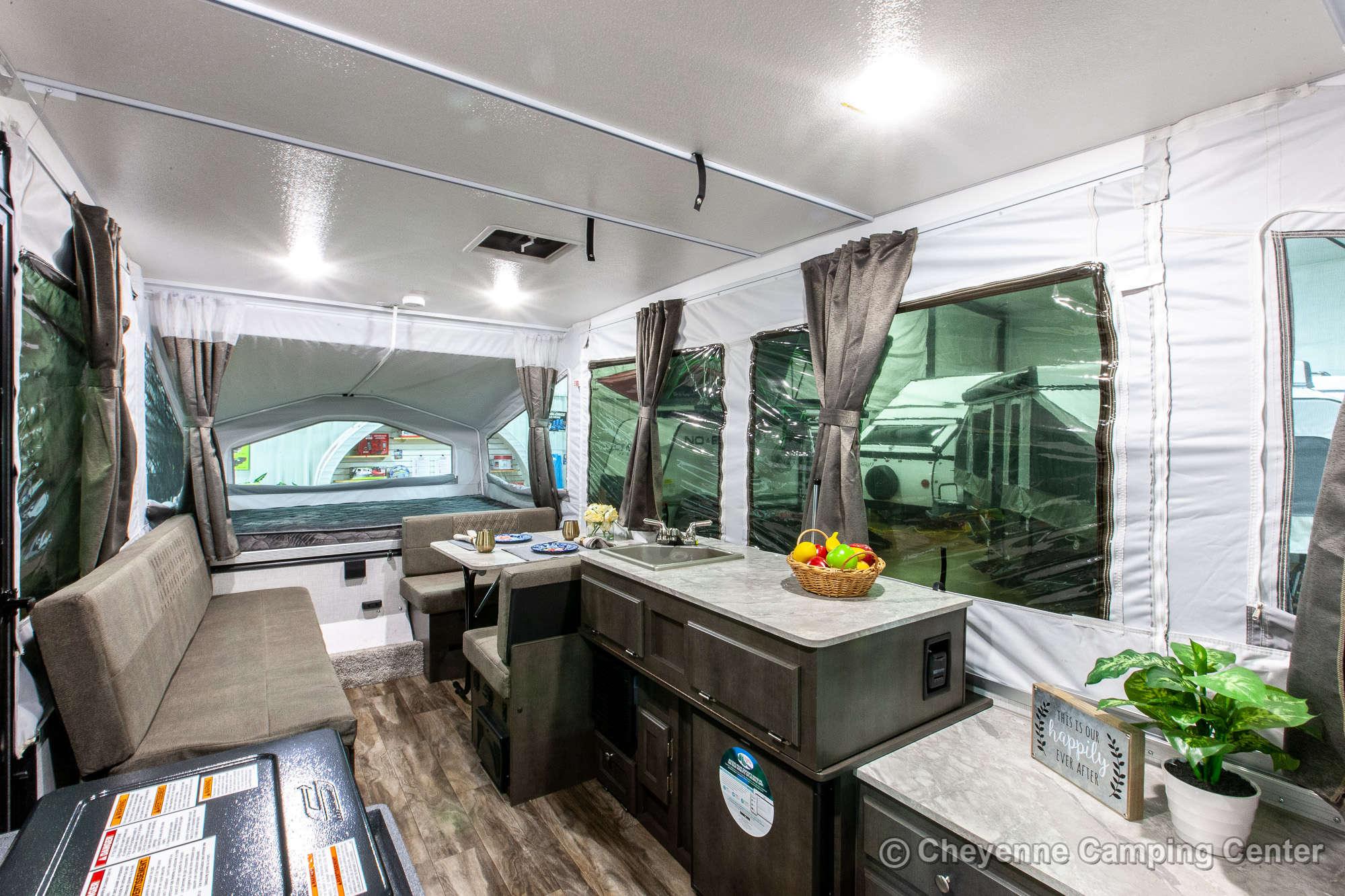 2021 Forest River Flagstaff LTD 228LTD Folding Camper Interior Image