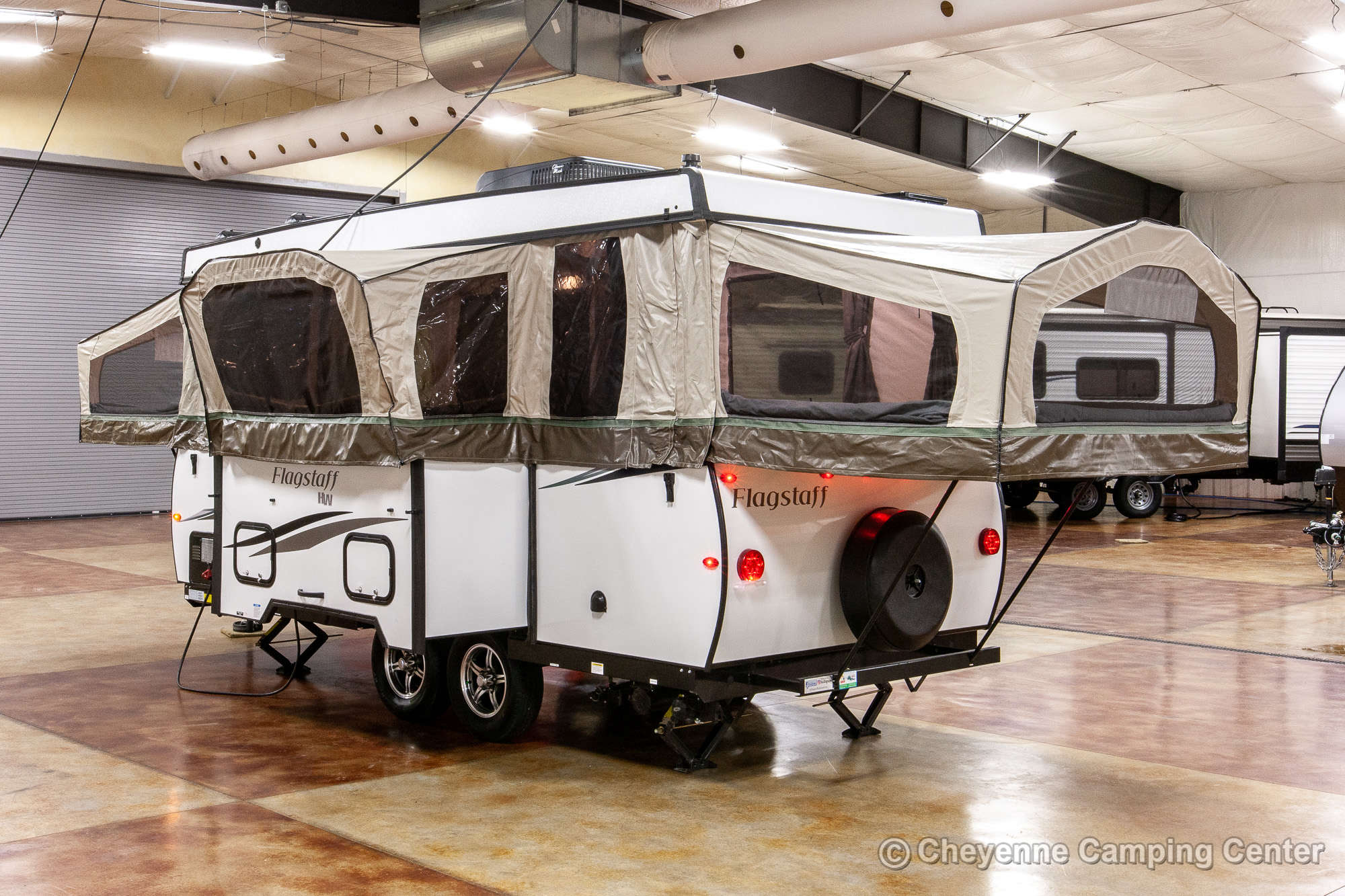2021 Forest River Flagstaff High Wall HW29SC Folding Camper Exterior Image