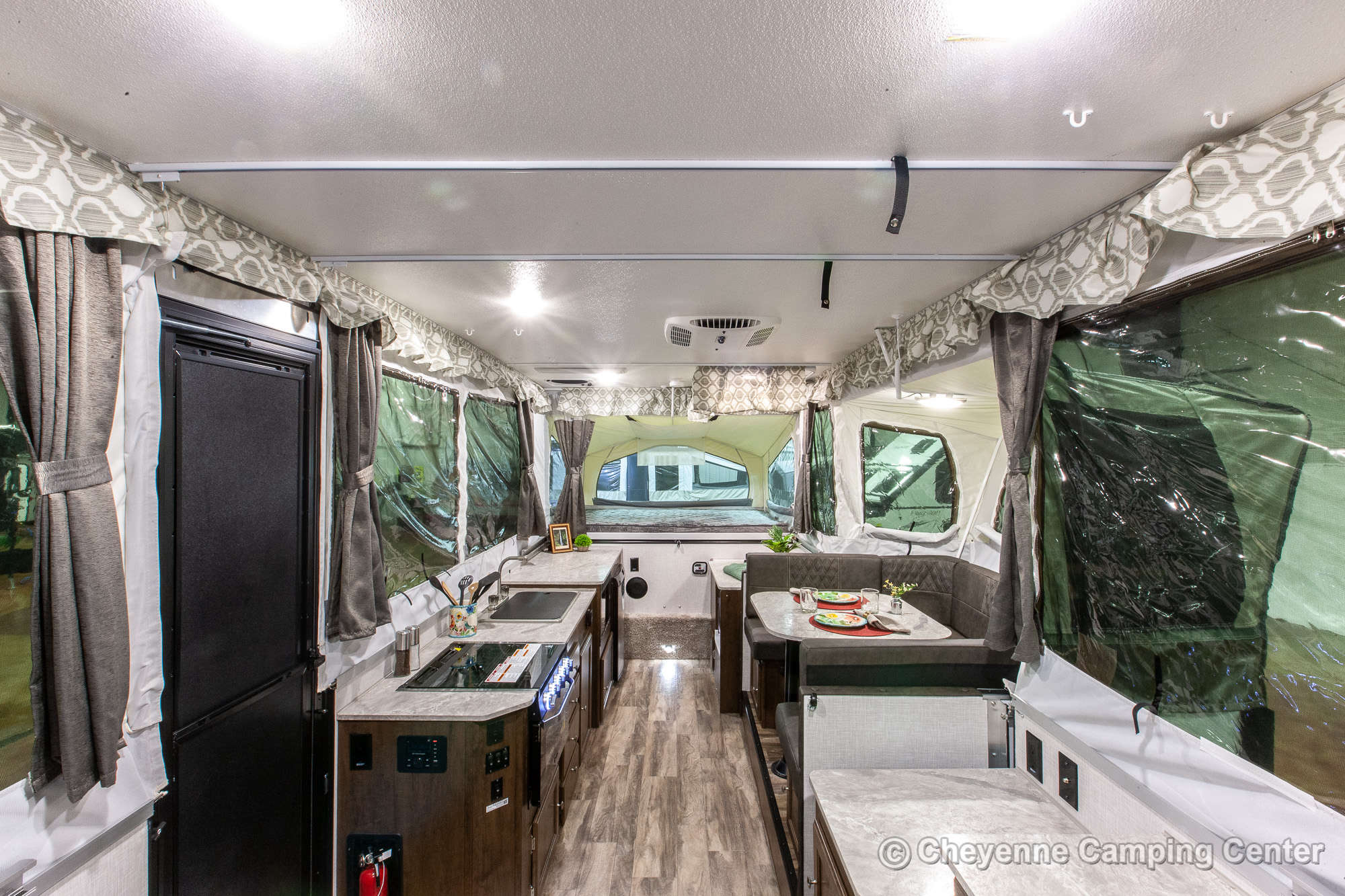 2021 Forest River Flagstaff High Wall HW29SC Folding Camper Interior Image
