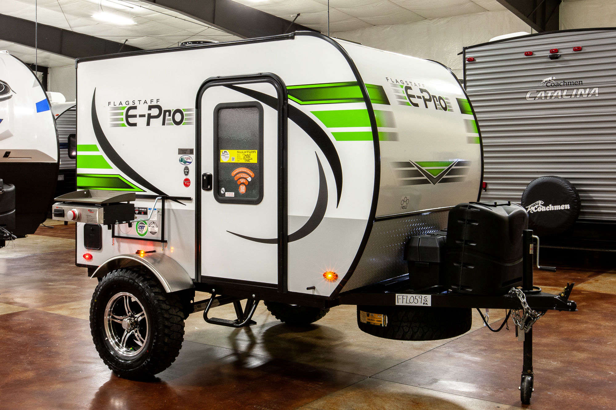 2020 Forest River Flagstaff E-Pro E12RK Travel Trailer