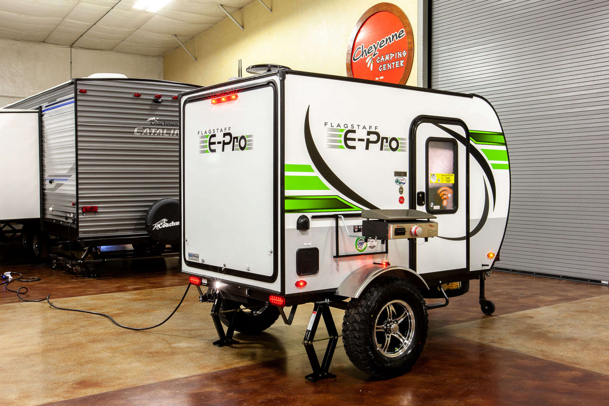 2020 Forest River Flagstaff E-Pro E12RK Travel Trailer Exterior Image