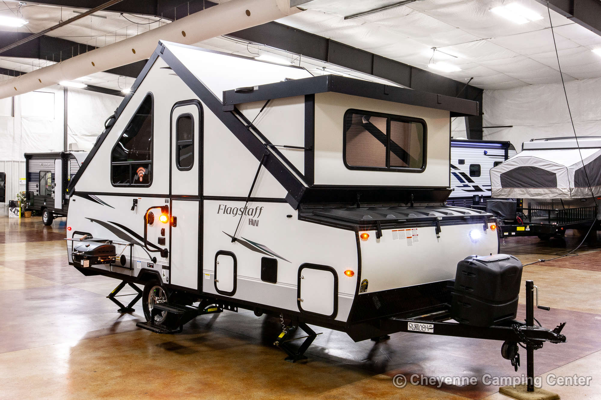 2021 Forest River Flagstaff Hard Side T21DMHW Folding Camper