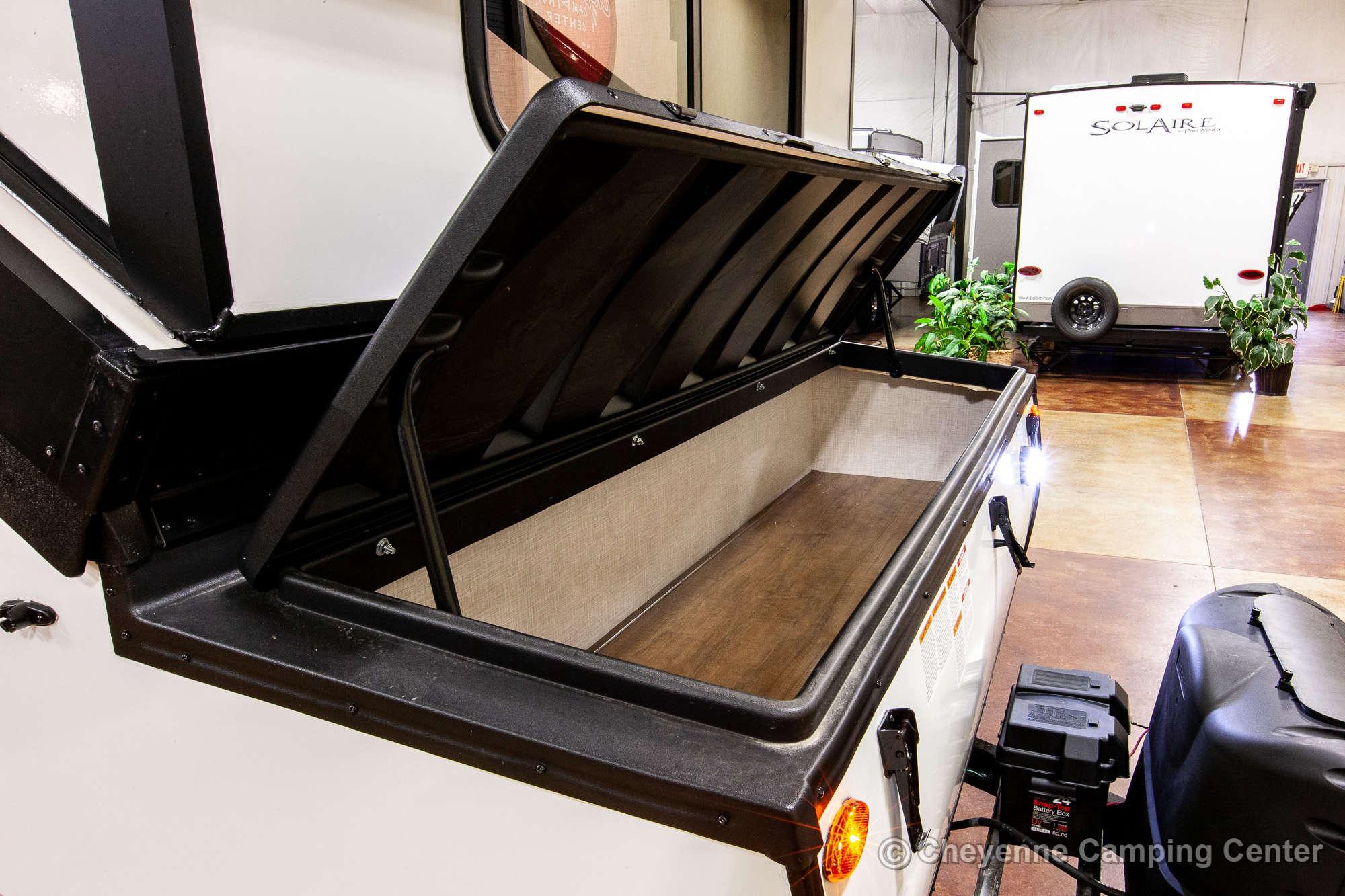2021 Forest River Flagstaff Hard Side T21DMHW Folding Camper Exterior Image