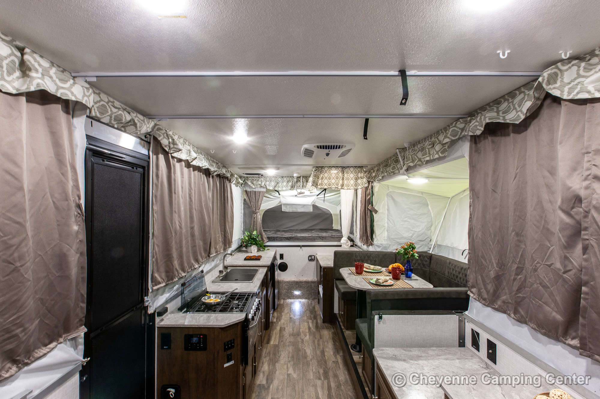 2021 Forest River Flagstaff High Wall HW29SC Folding Camper Interior Image