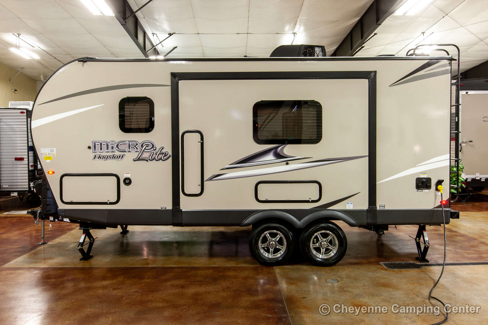 2020 Forest River Flagstaff Micro Lite 21DS Travel Trailer Exterior Image