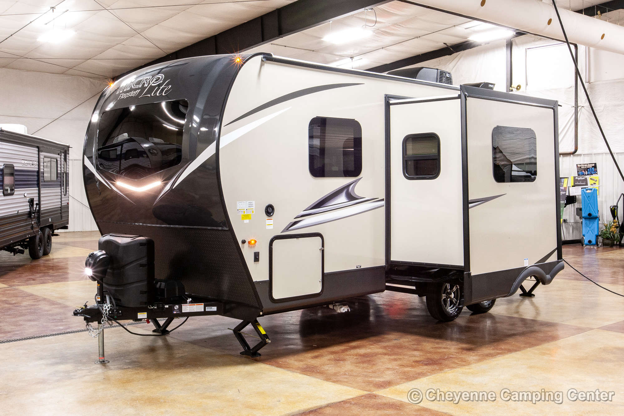 2022 Forest River Flagstaff Micro Lite 22FBS Travel Trailer Exterior Image