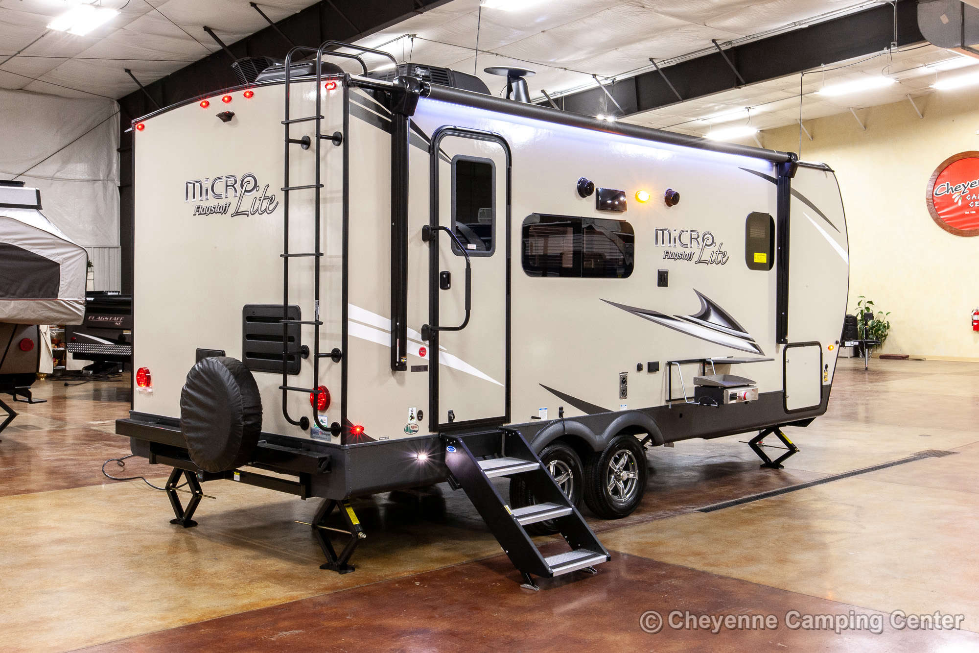 2021 Forest River Flagstaff Micro Lite 22FBS Travel Trailer Exterior Image