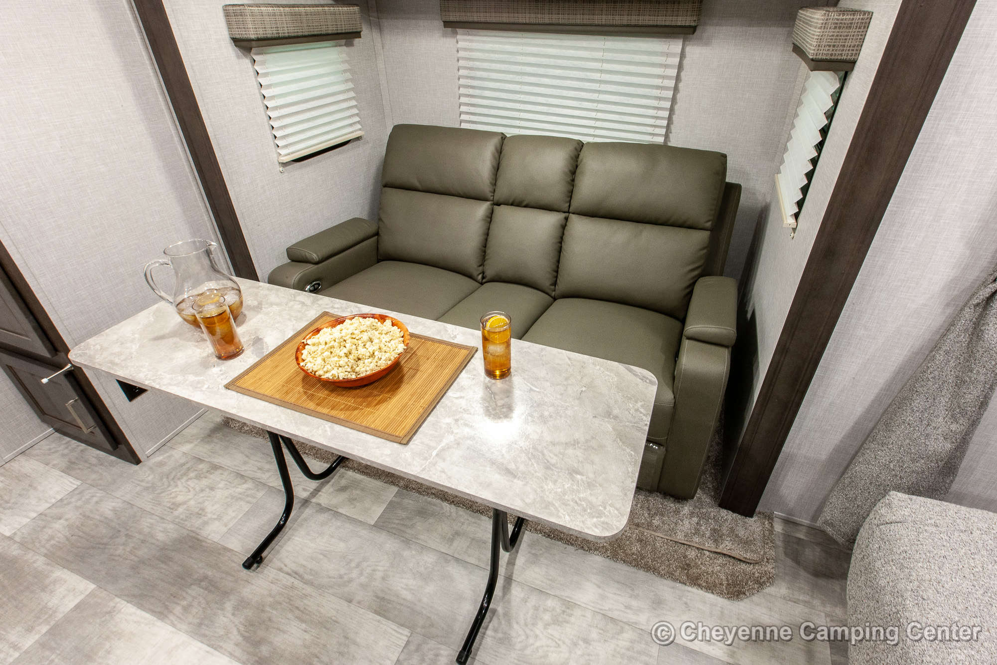 2021 Forest River Flagstaff Micro Lite 22FBS Travel Trailer Interior Image