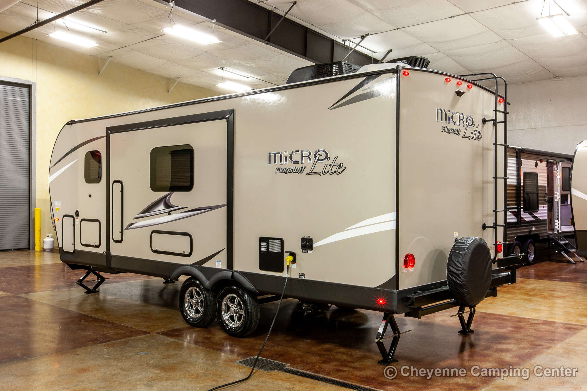 2020 Forest River Flagstaff Micro Lite 25BDS Travel Trailer Exterior Image
