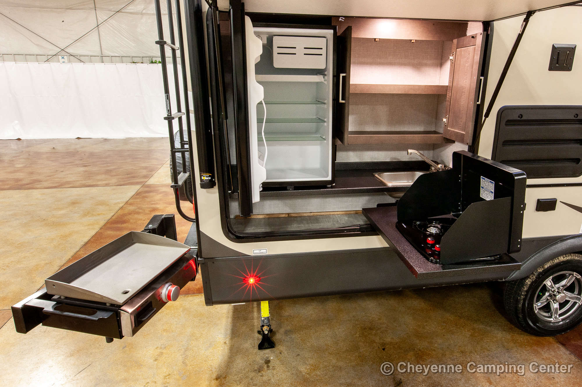 2021 Forest River Flagstaff Micro Lite 25BDS Travel Trailer Exterior Image