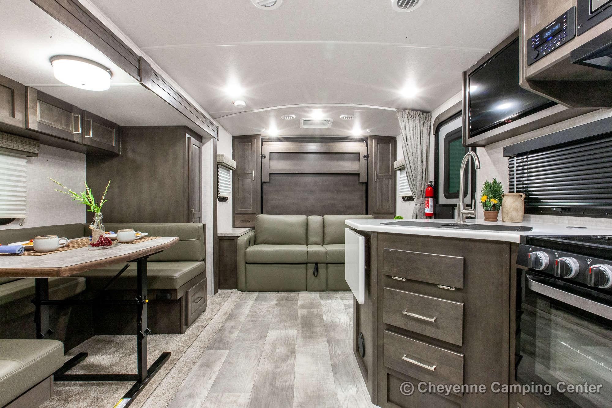 2021 Forest River Flagstaff Micro Lite 25BDS Travel Trailer Interior Image